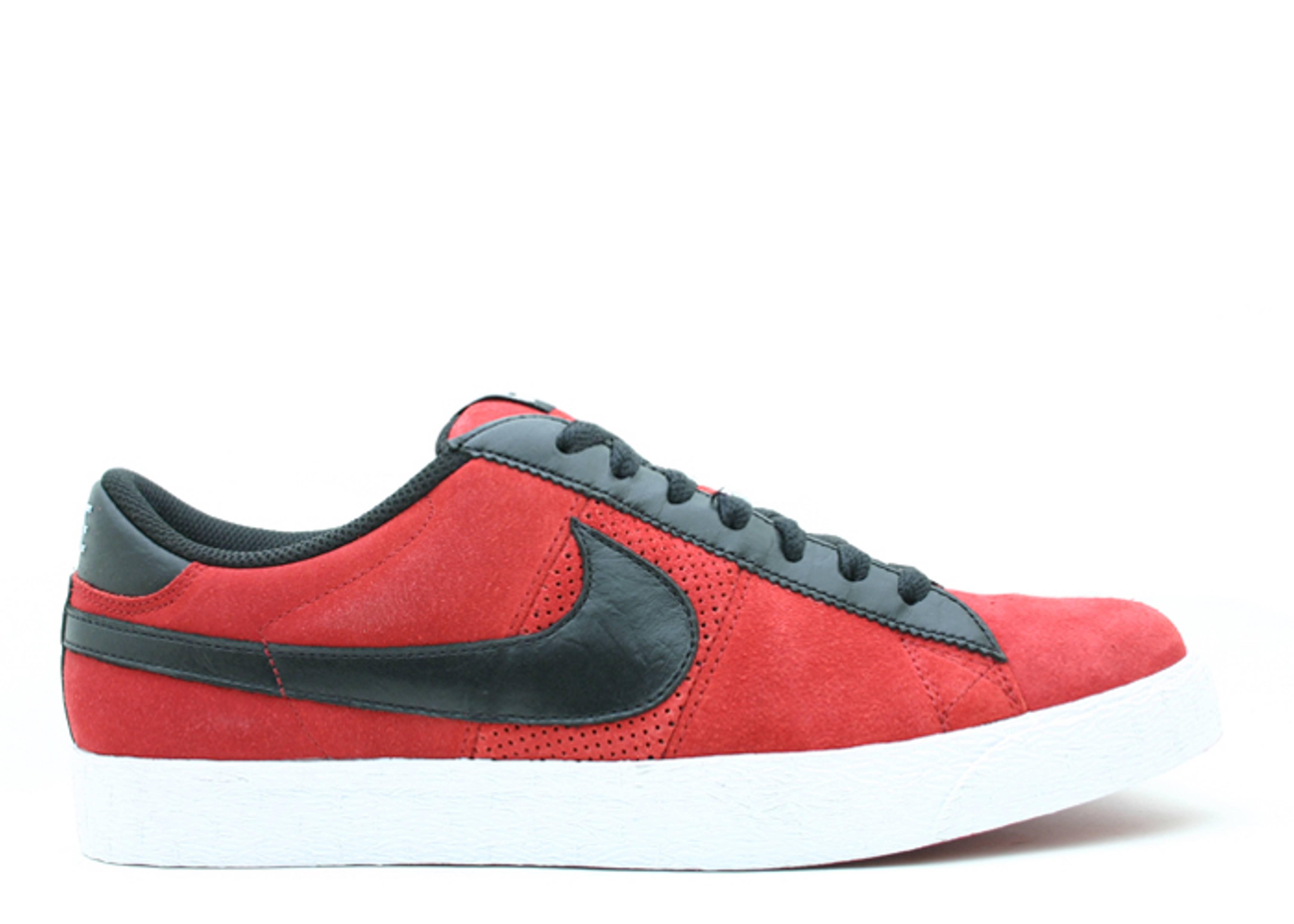 separation shoes 5798f 609df ... SB - Newsprint White Blazer Low Premium - Nike - 317070 601 - varsity  red black Flight Club ...
