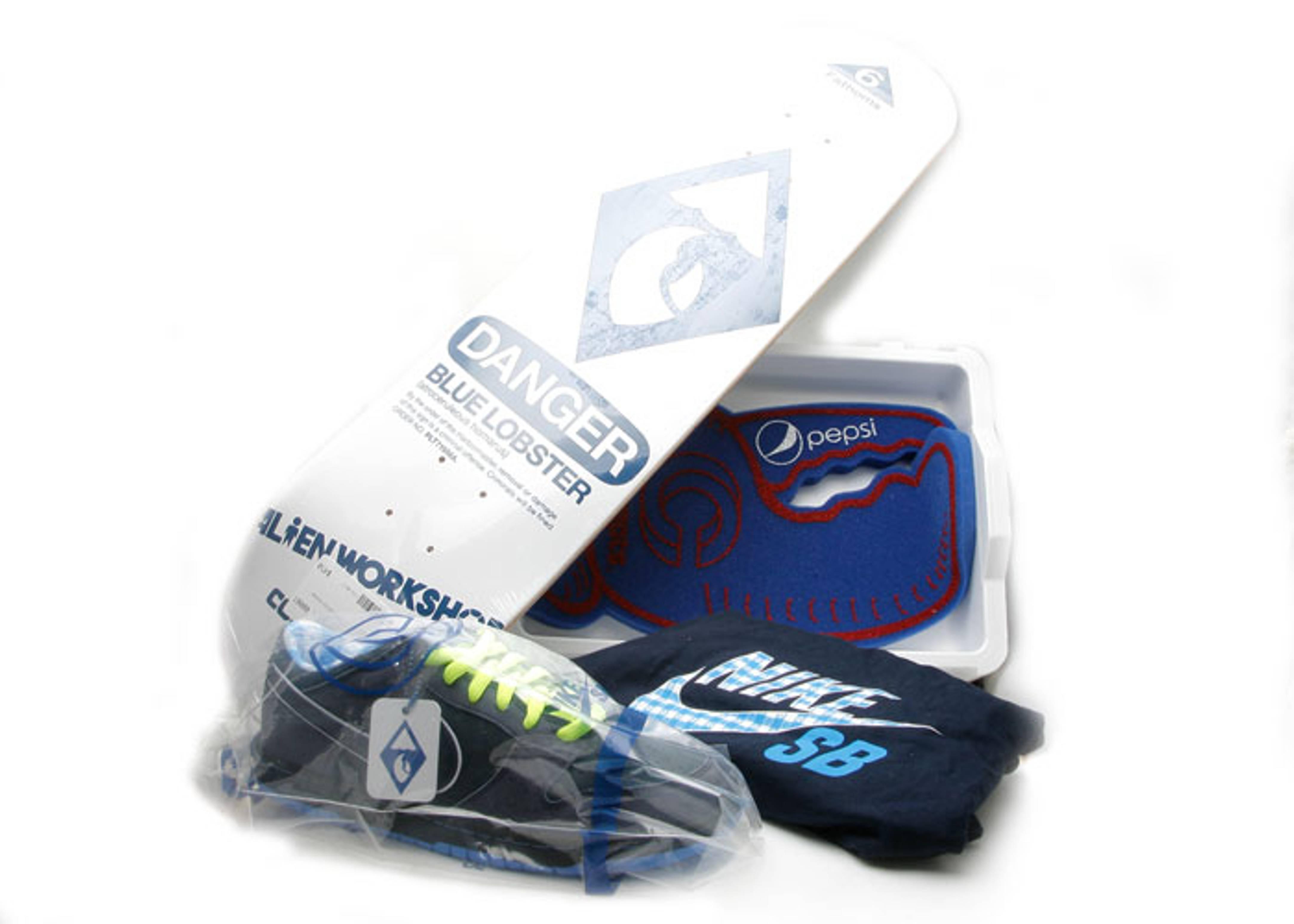 "dunk low sb premium ""concept blue lobster package #1"""