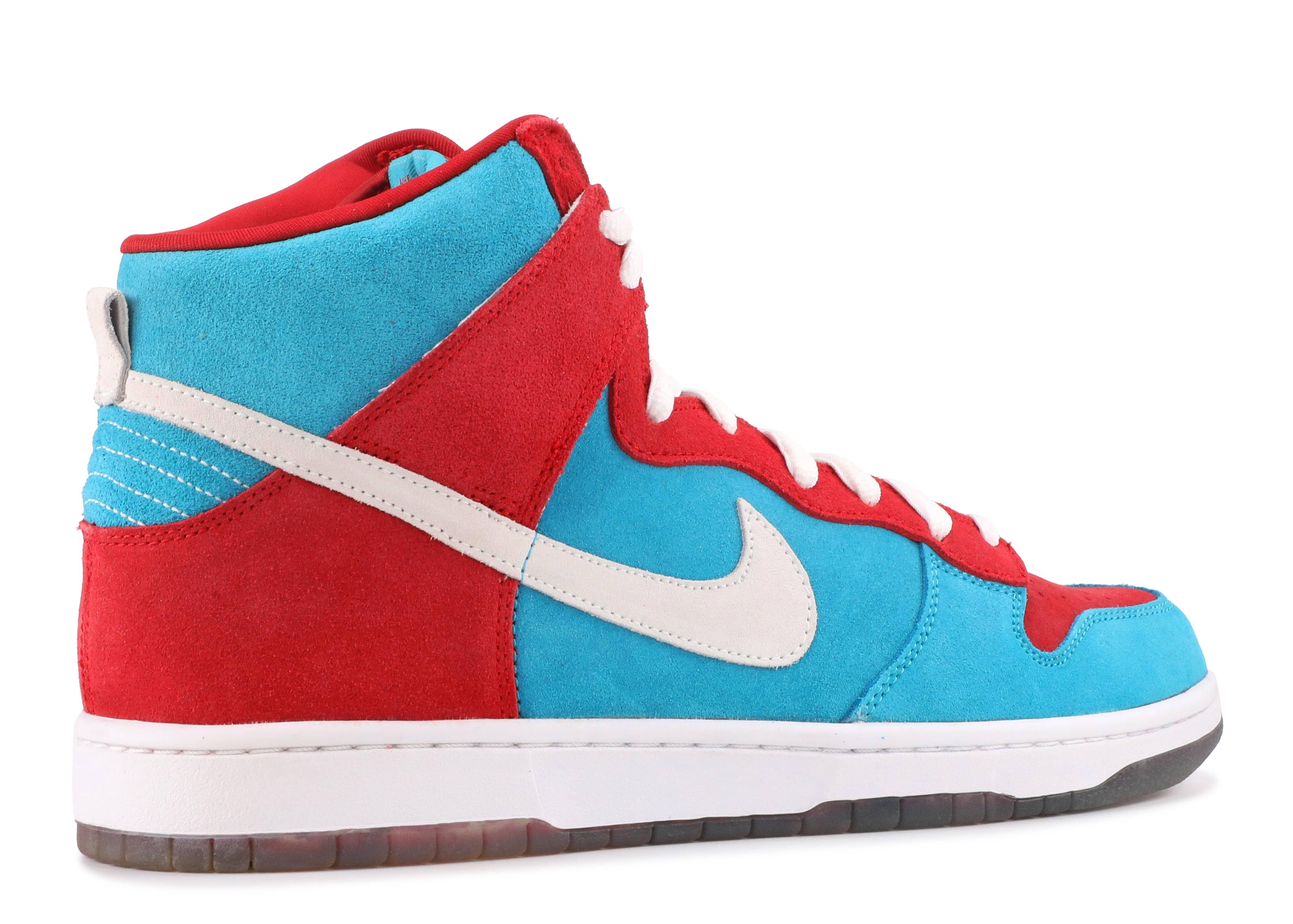 e604d3ce06c4 Nike Sb Dunk High Bloody Gums