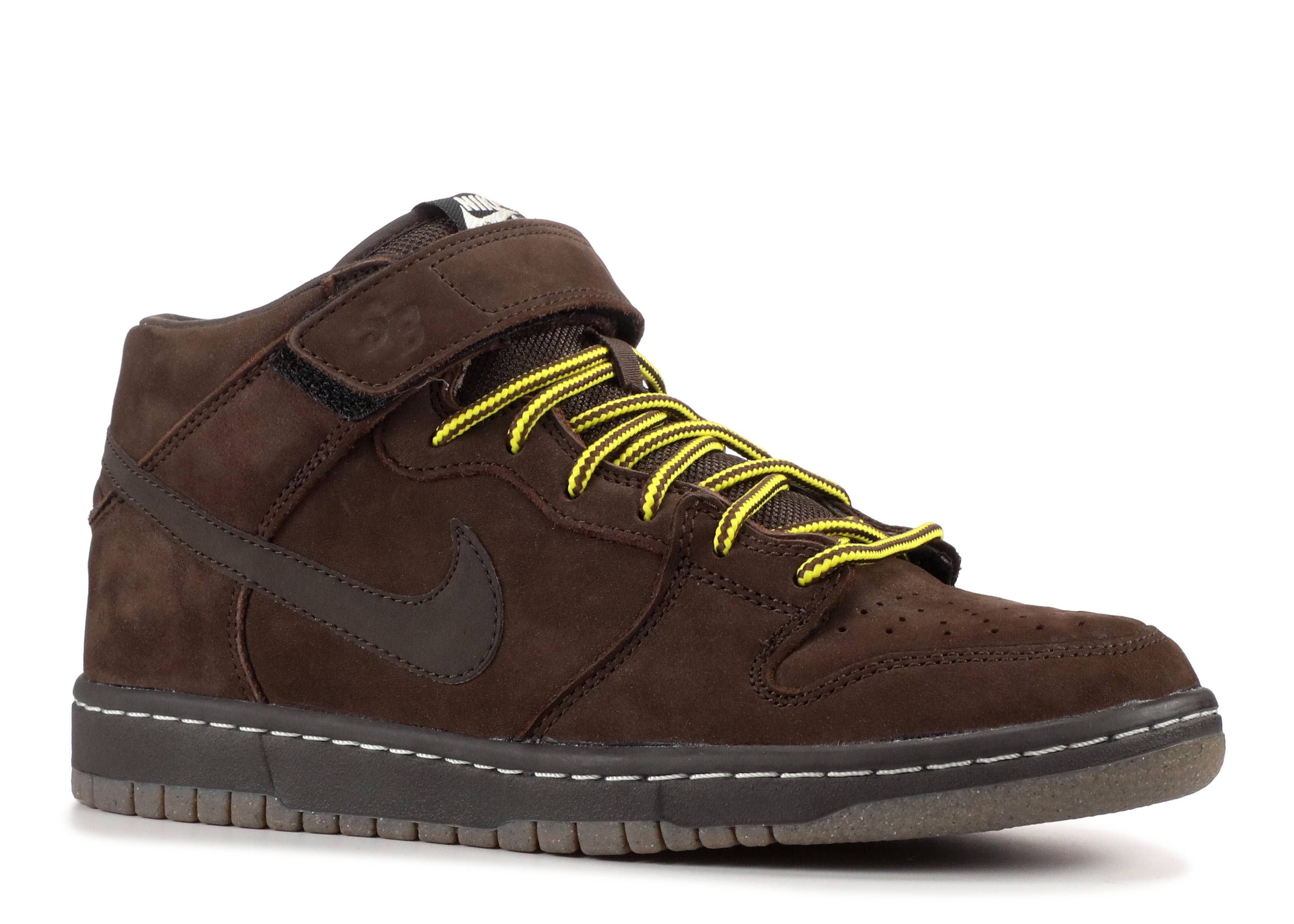 Dunk Mid Premium Sb - Nike - 314381 221 - dark chocolate dark ... 4795c075d1
