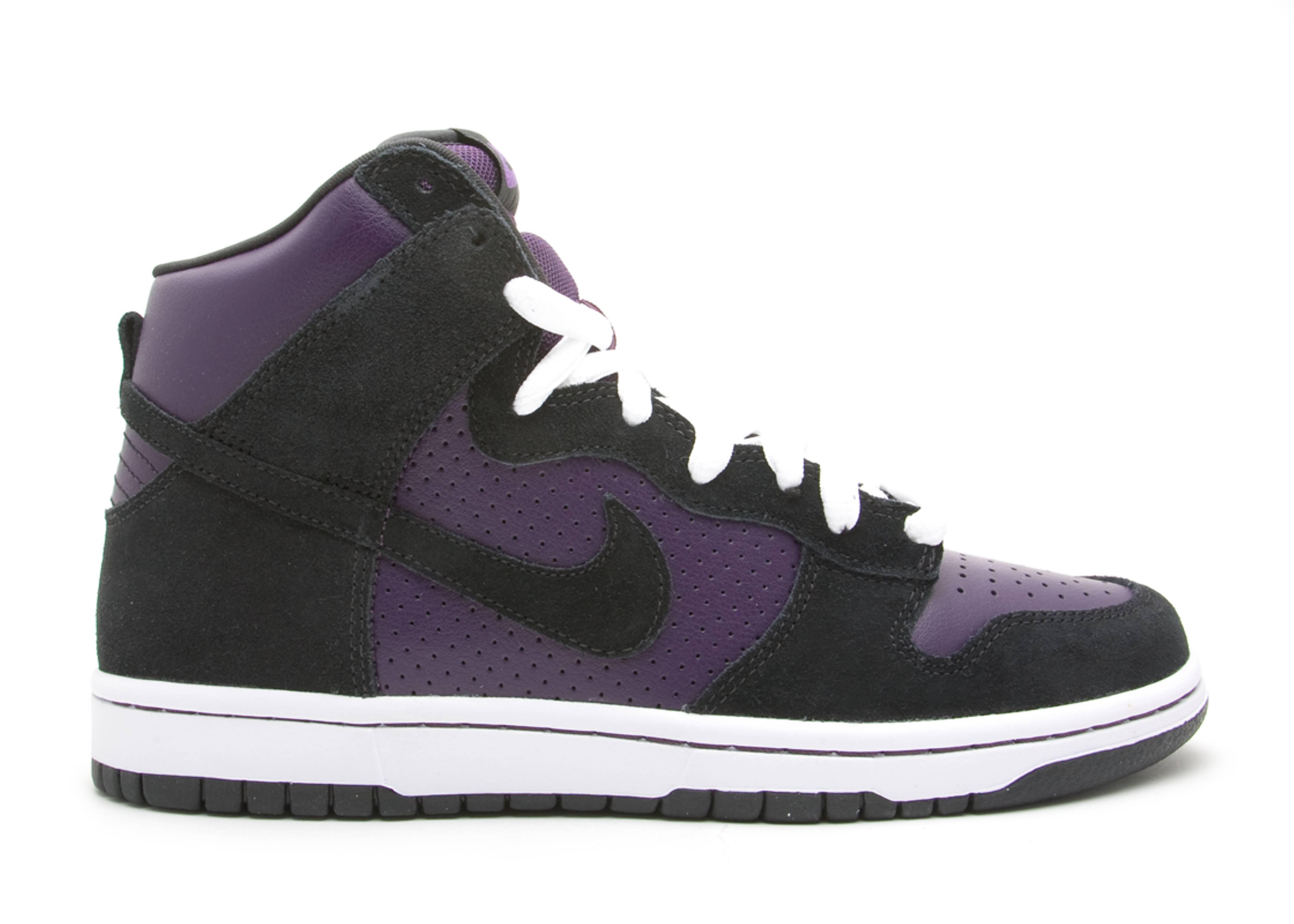 check out 168a8 22407 Dunk High Pro Sb - Nike - 305050 500 - grand purple black   Flight Club