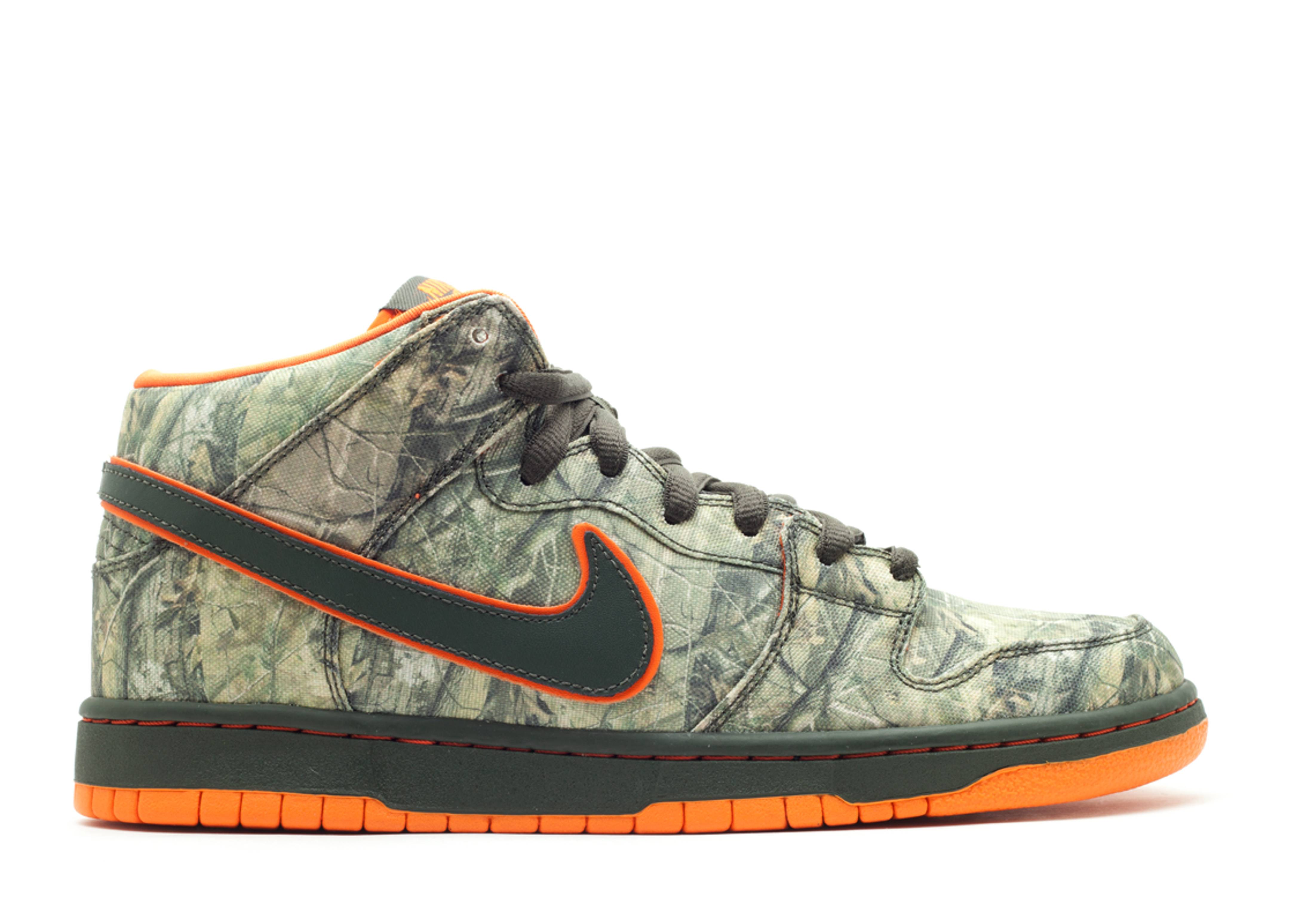 Nike Dunk Qsymia Árbol De Verdad Mediados Premium Sb