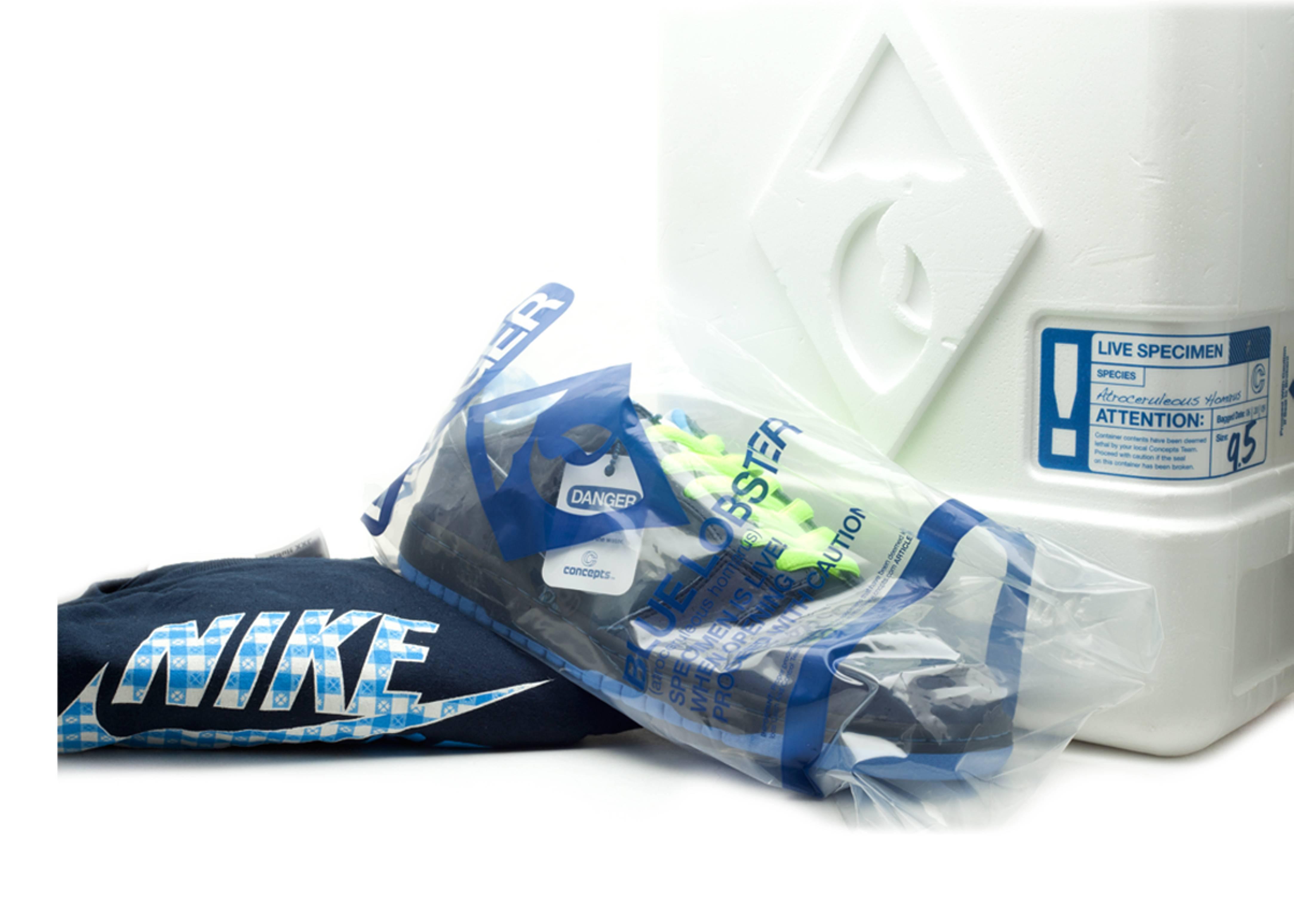 "dunk low premium sb ""concept blue lobster package #3"""