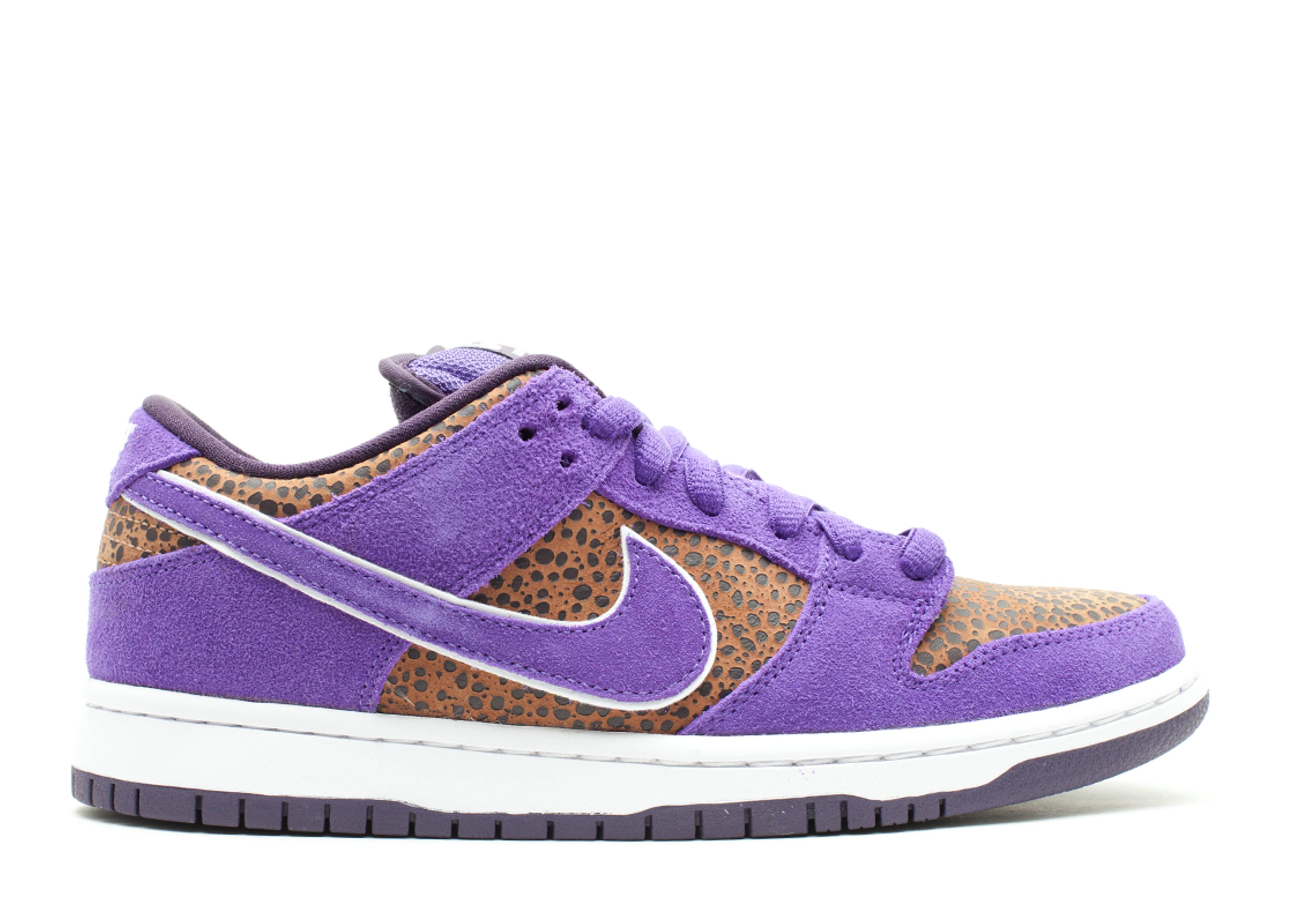 size 40 763bf 68534 Dunk Low Premium Sb - Nike - 313170 200 - bison/varsity purple ...