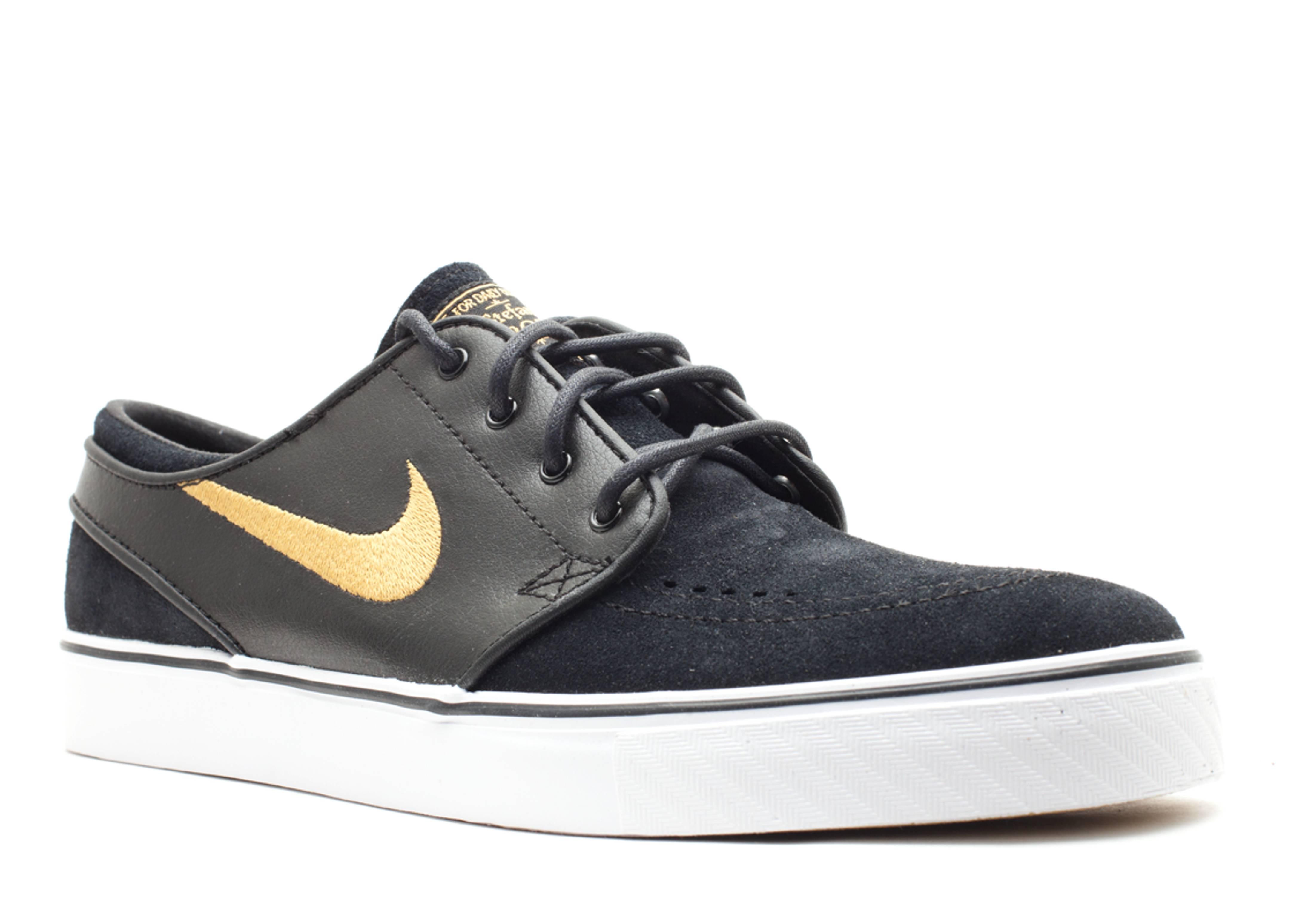 Zoom Stefan Janoski - Nike - 333824 071 - black metallic gold-white ... 0d5c7656ca87