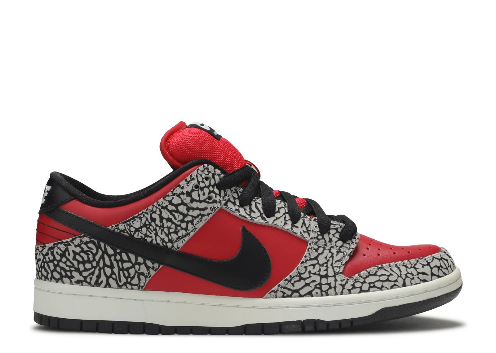 "dunk low premium sb ""Red Cement"""