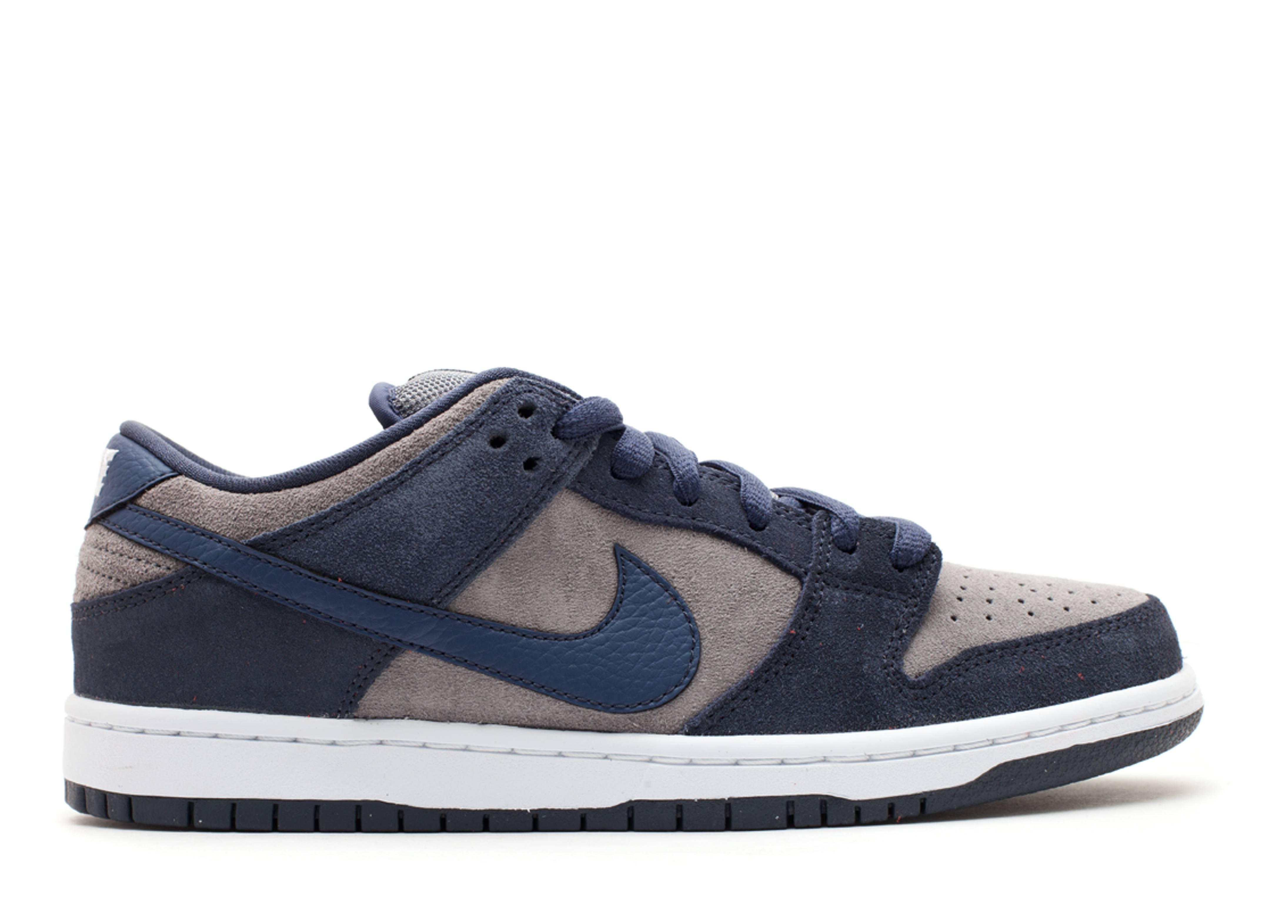 46cf52ab390b Dunk Low Pro Sb - Nike - 304292 409 - thunder blue cool grey-white ...