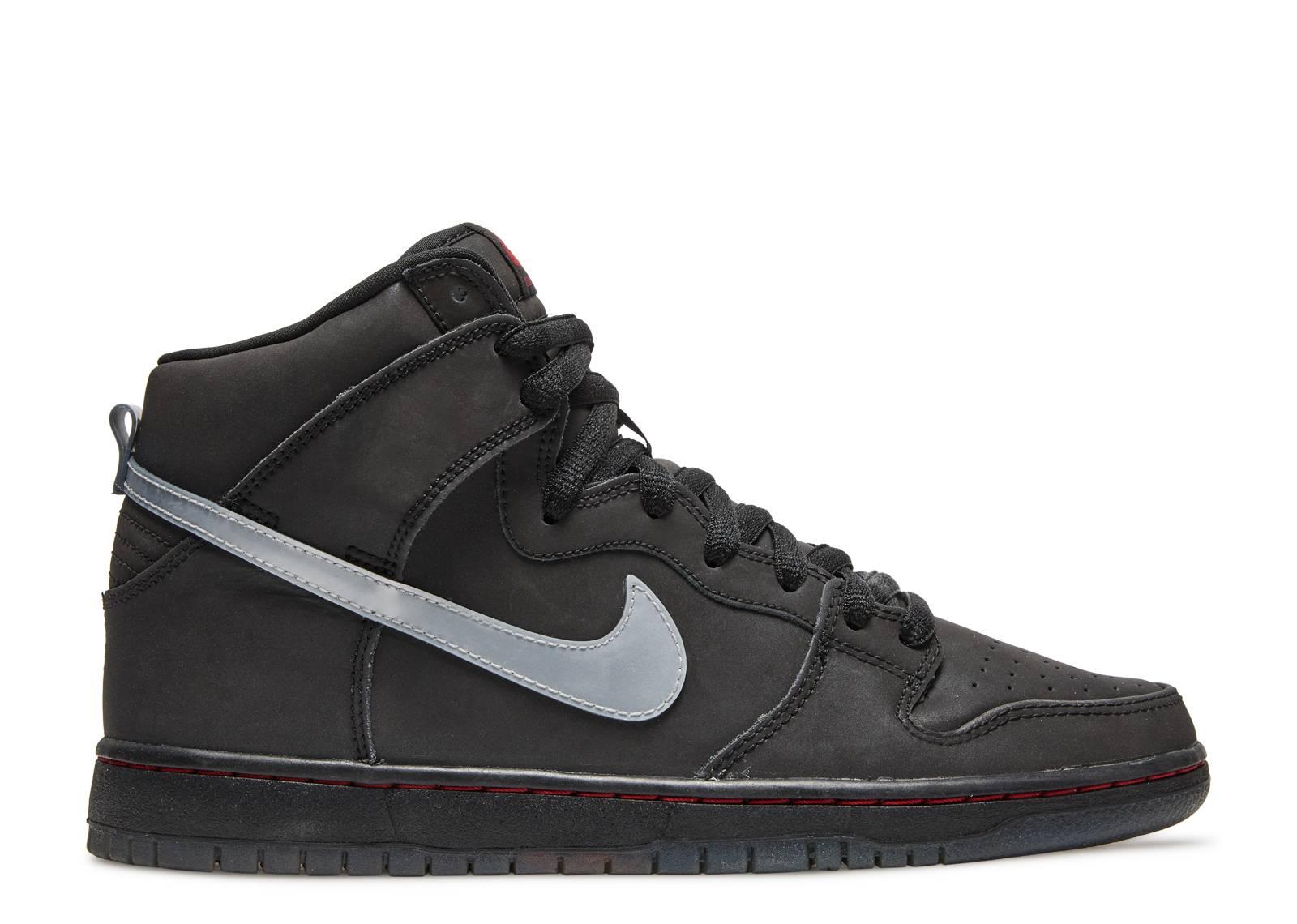 Nike Dunk High Premium SB 3M Pink Black White Shoes