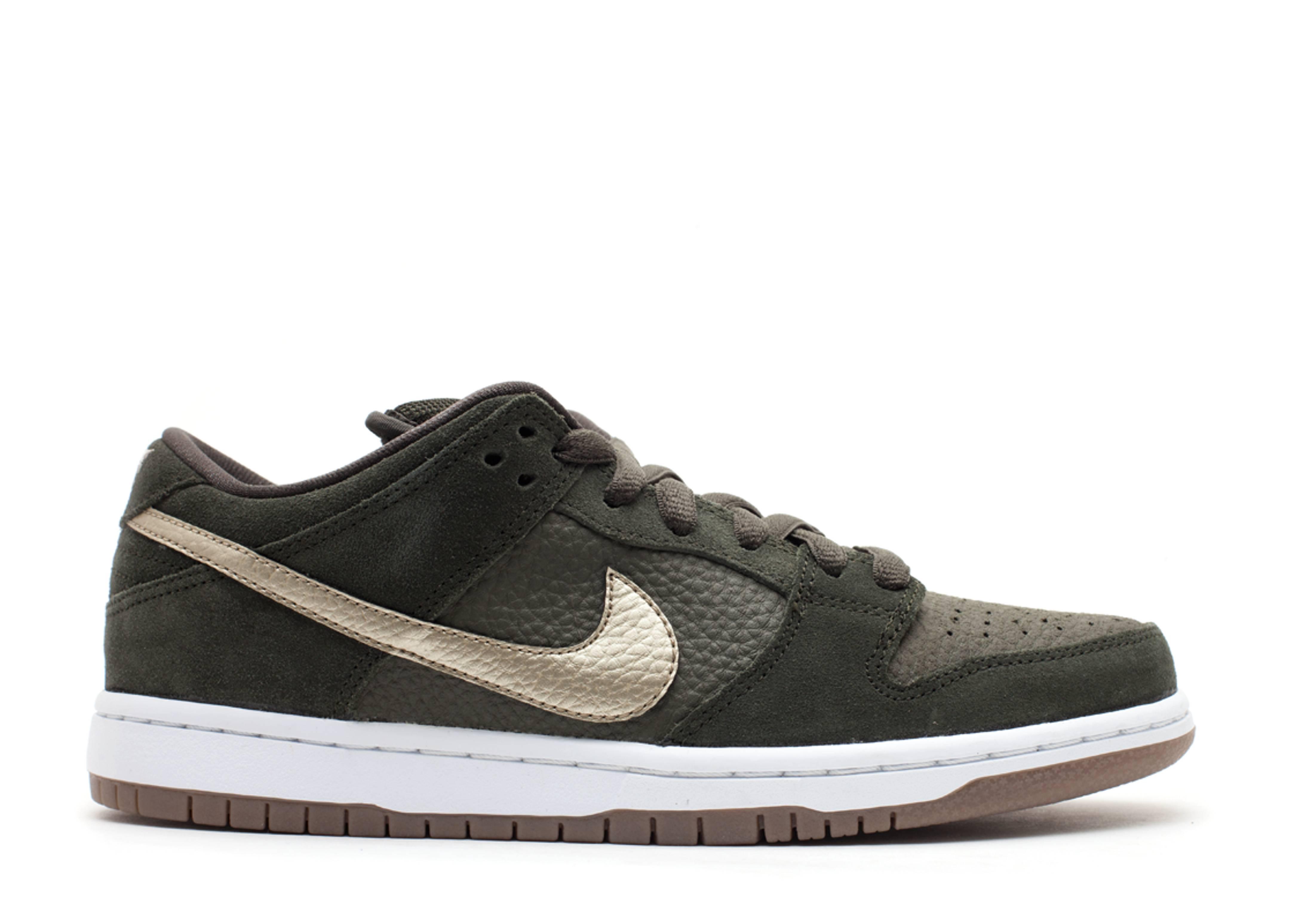 Nike Dunk Low Pro Séquoia / Blanc / Gomme combien à vendre W1m33mhW3t