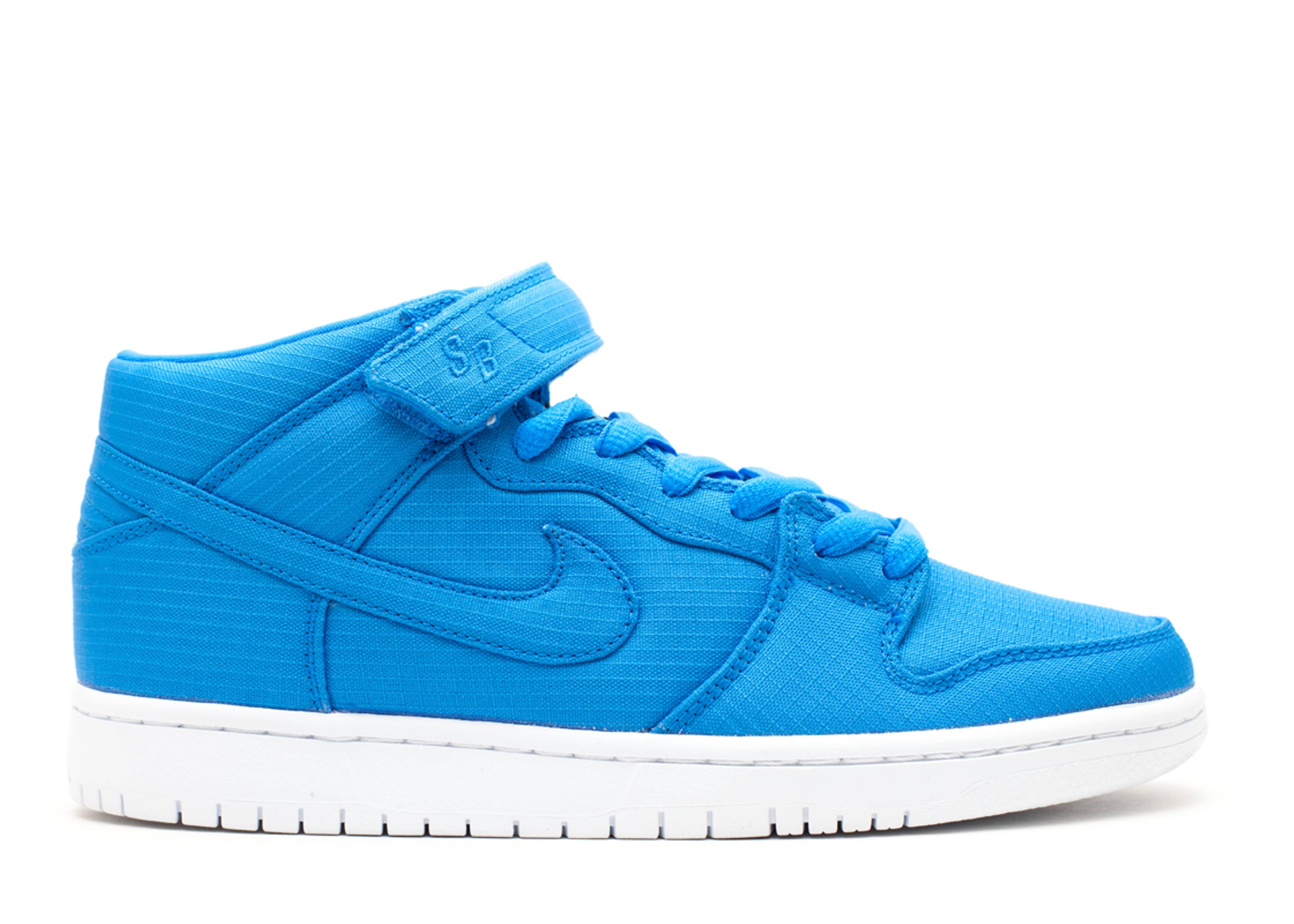 Dunk Mid Pro Sb - Nike - 314383 441 - photo blue white-photo blue ... 289a0fcf9