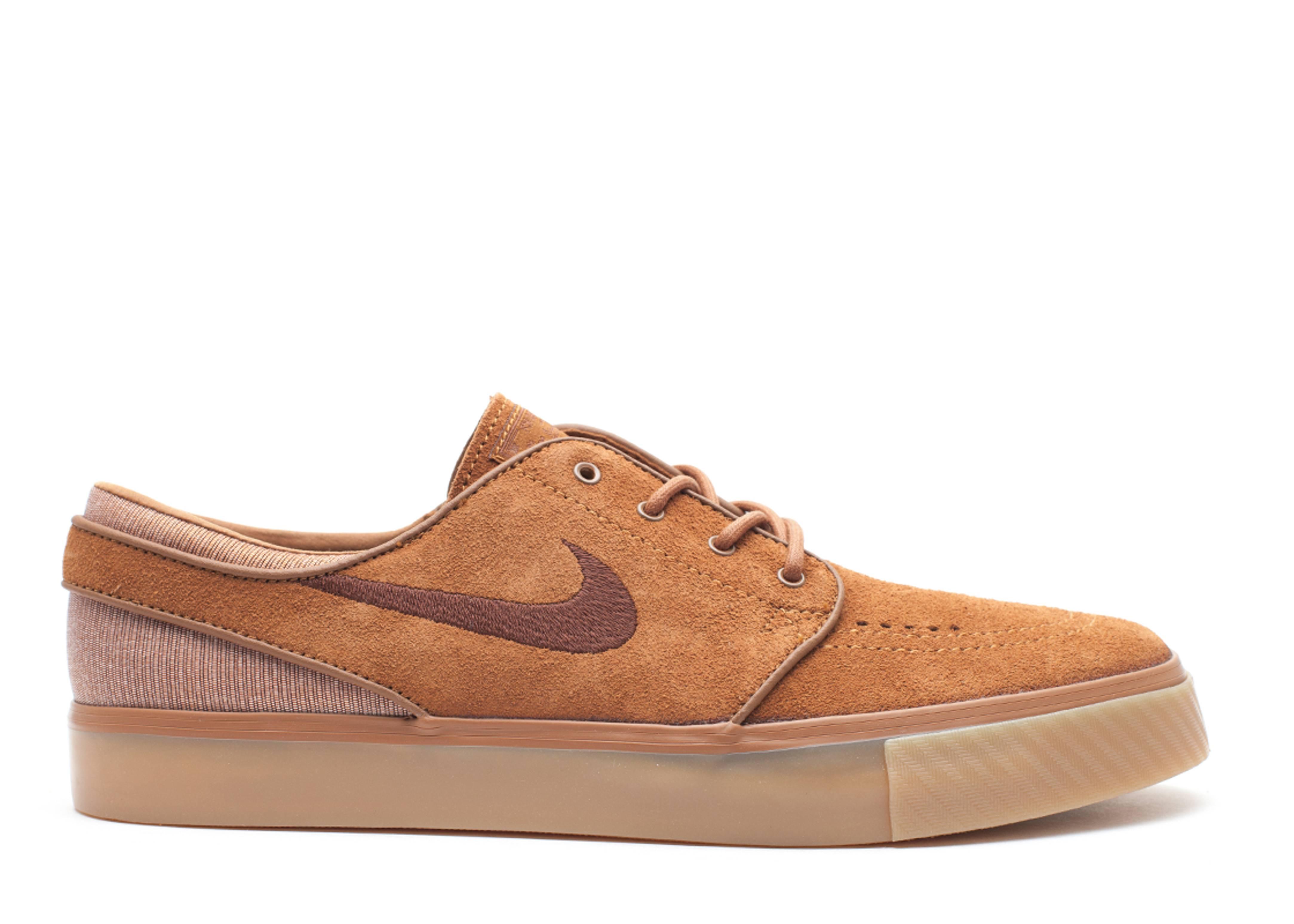 95846f38 Zoom Stefan Janoski - Nike - 333824 205 - light british tan/dark field brown  | Flight Club