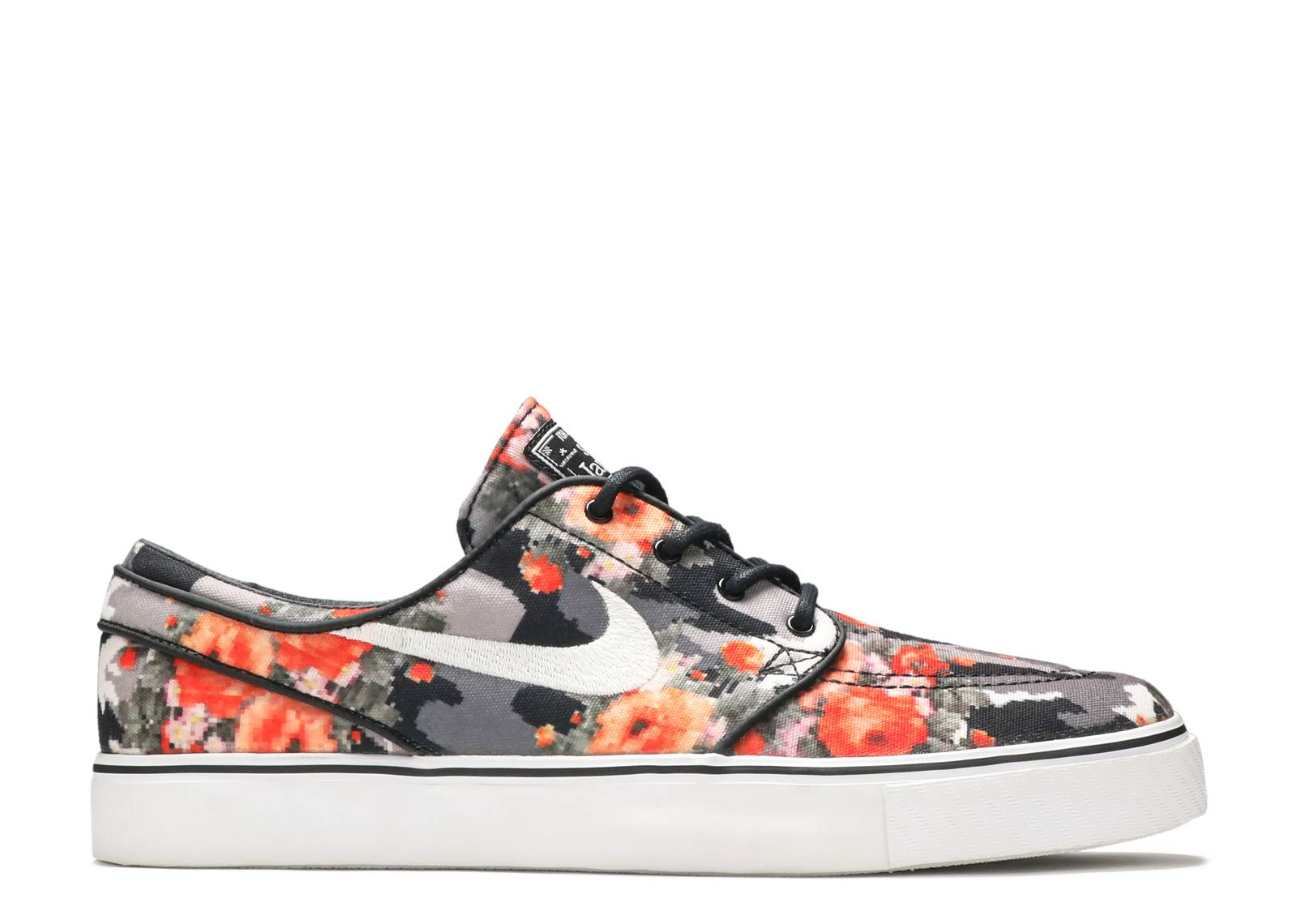 Multi-Color/Black-Mandarin - Men Nike Zoom Stefan Janoski Pr