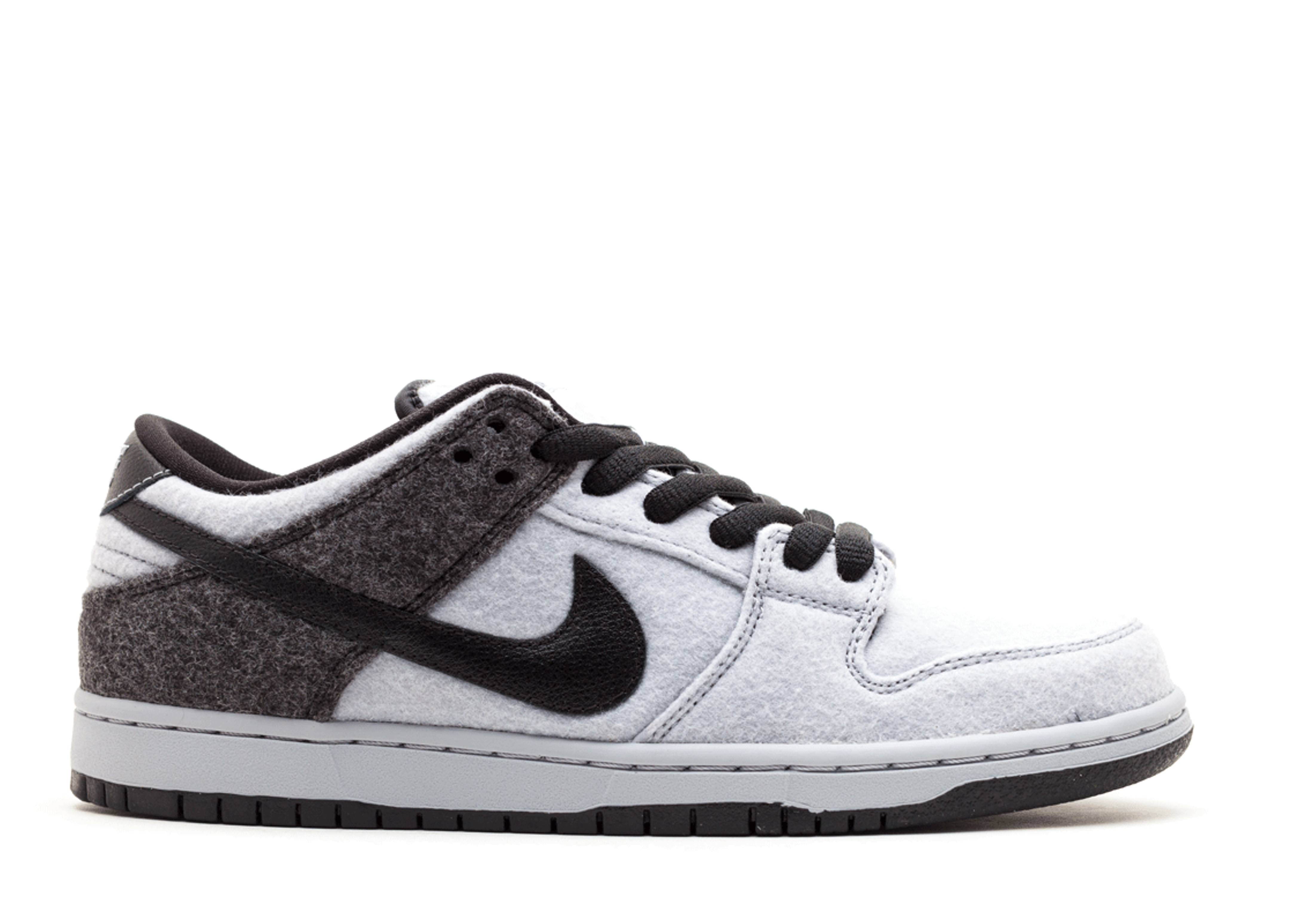 Men's Nike Dunk Low PRM SB Wolf Grey Black Sneakers : K58u472