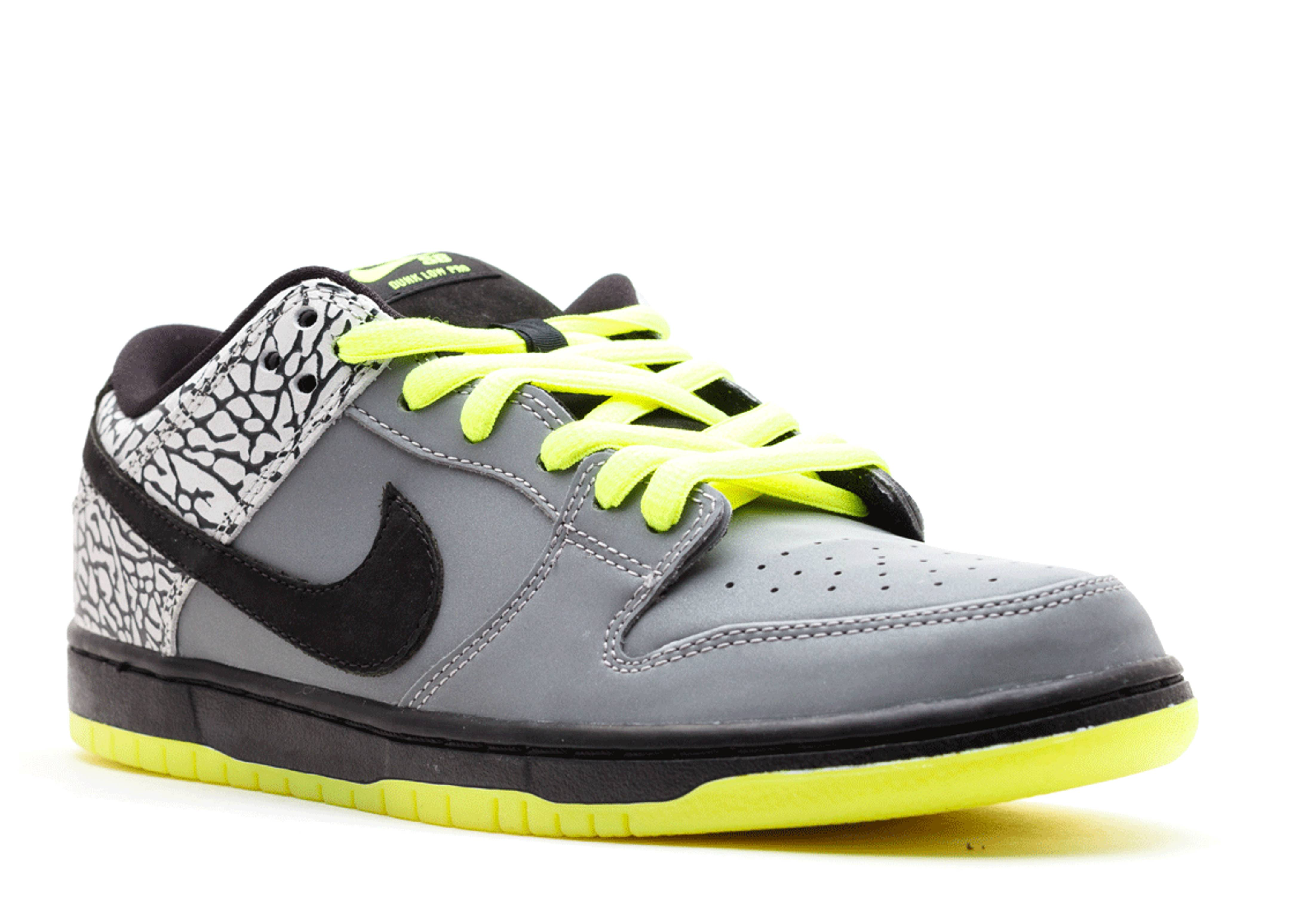 ... dunk low premium sb qs 112 metallic silver black volt flight club ...