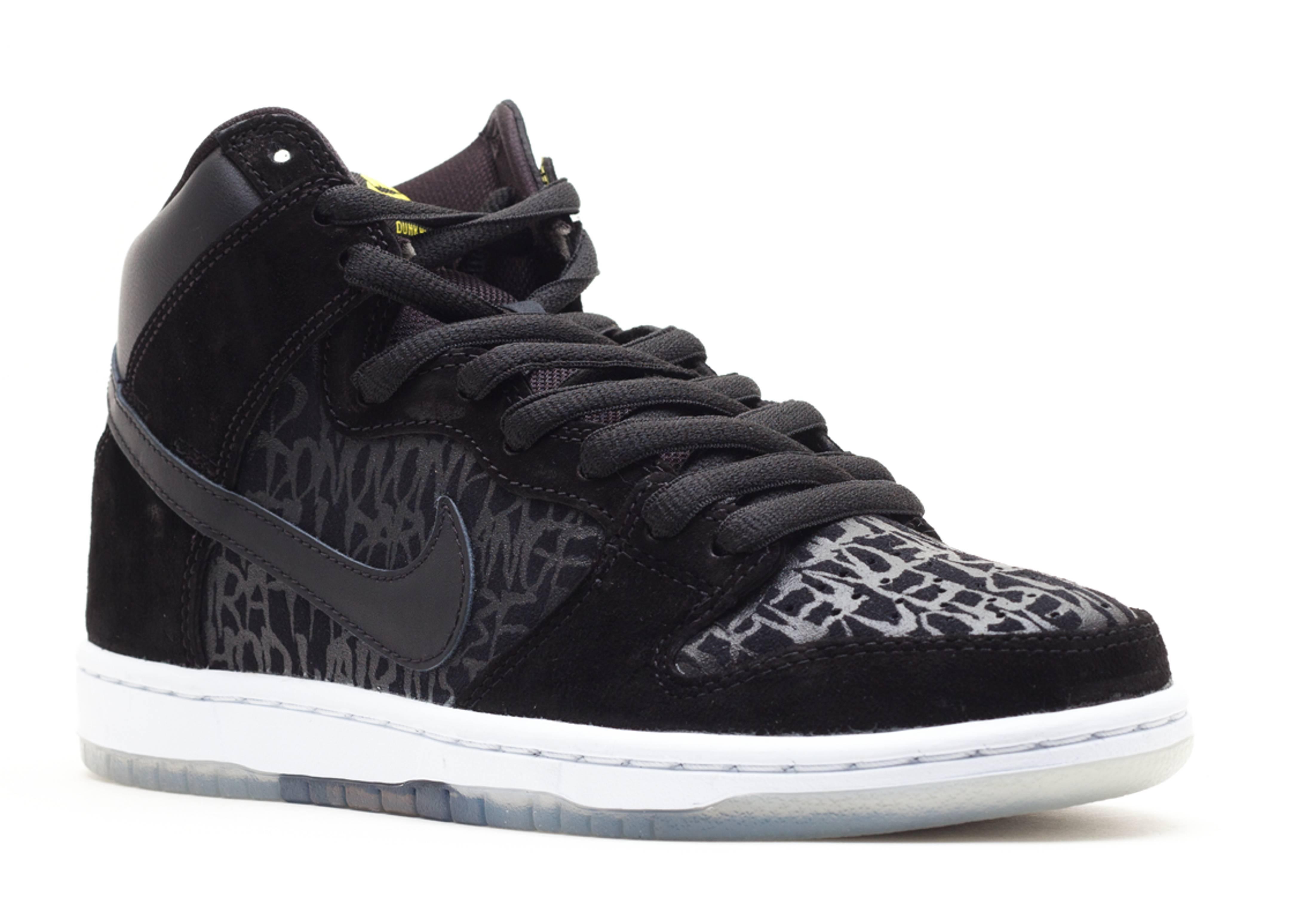 "dunk high premium sb ""neckface"" - black/black - Nike Dunks ..."