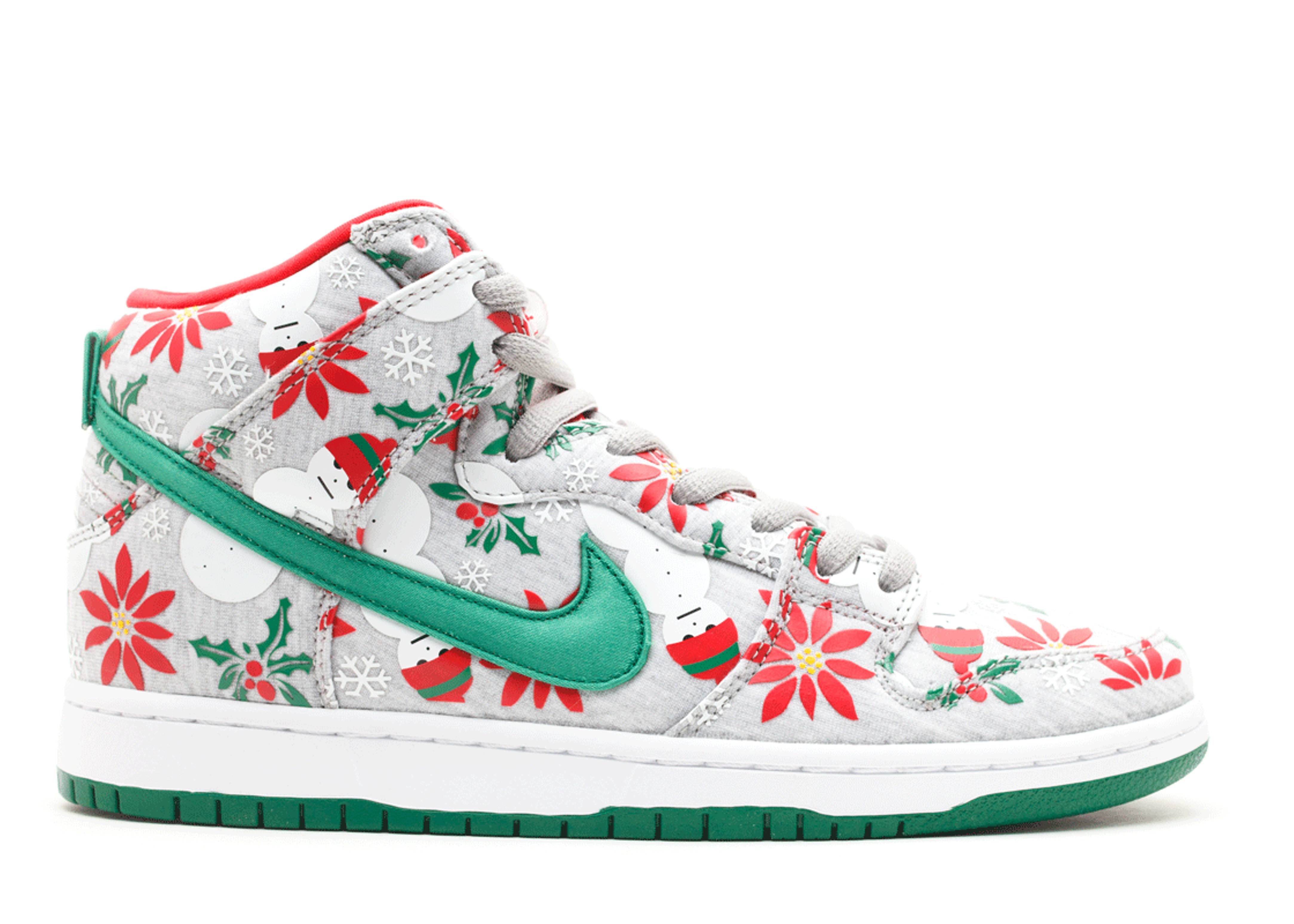 "dunk high sb prm cncpts ""ugly christmas sweater"""