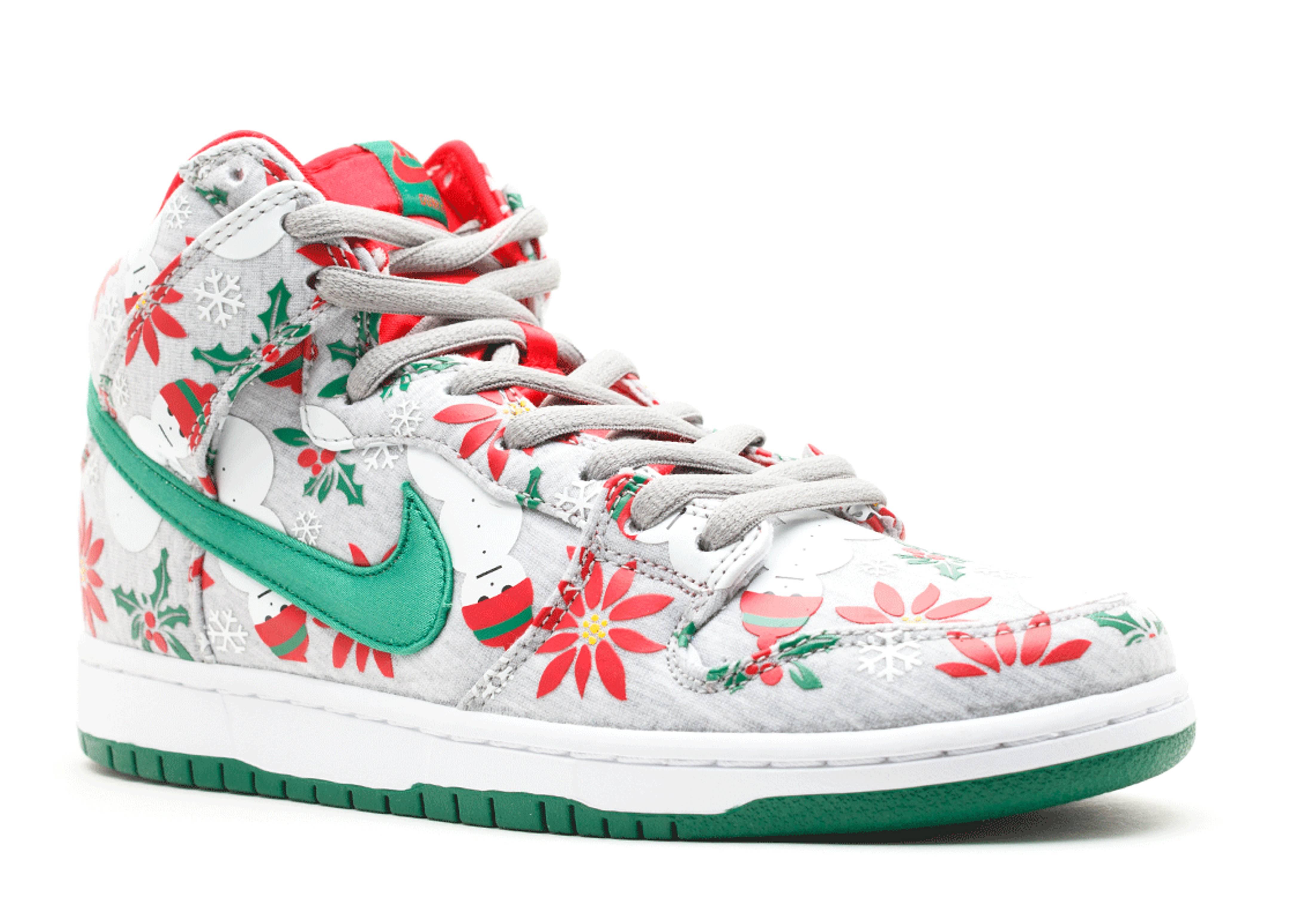 Nike dunk sb ugly christmas sweater