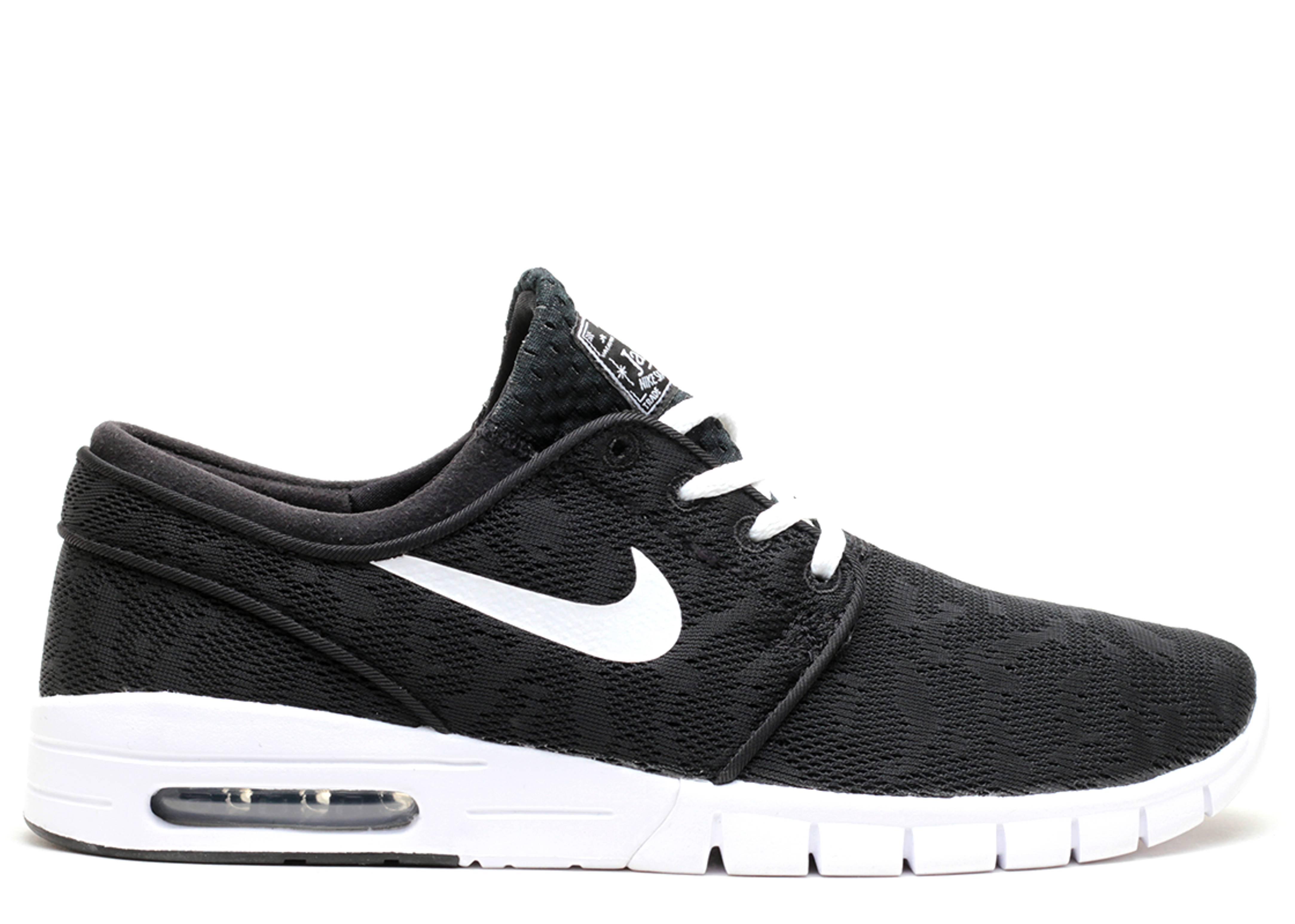 faux jeu Nike Stefan Janoski Max Blanc Et Noir 2014 unisexe vraiment pas cher Xepbx