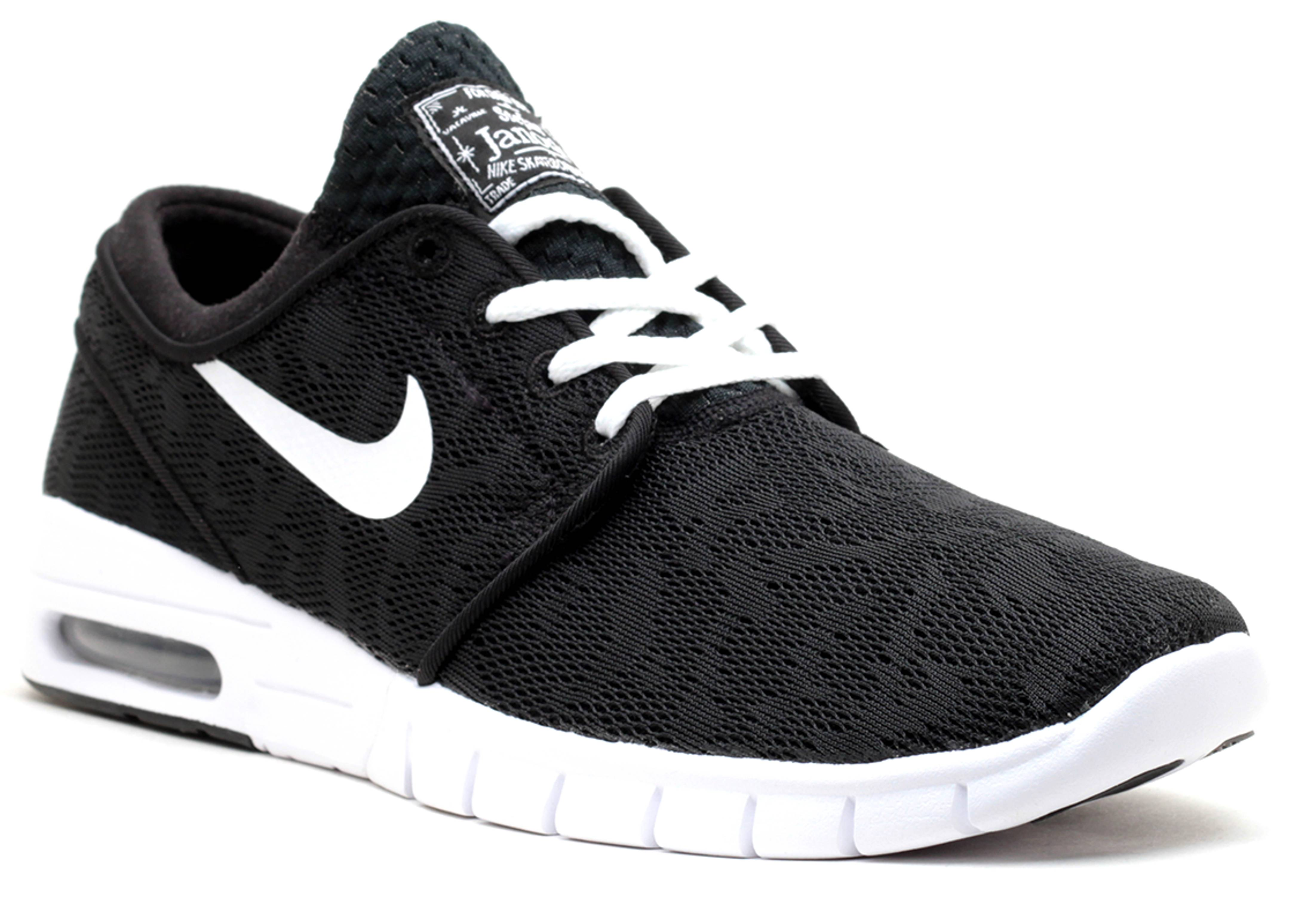 stefan janoski max nike 631303 010 black white. Black Bedroom Furniture Sets. Home Design Ideas