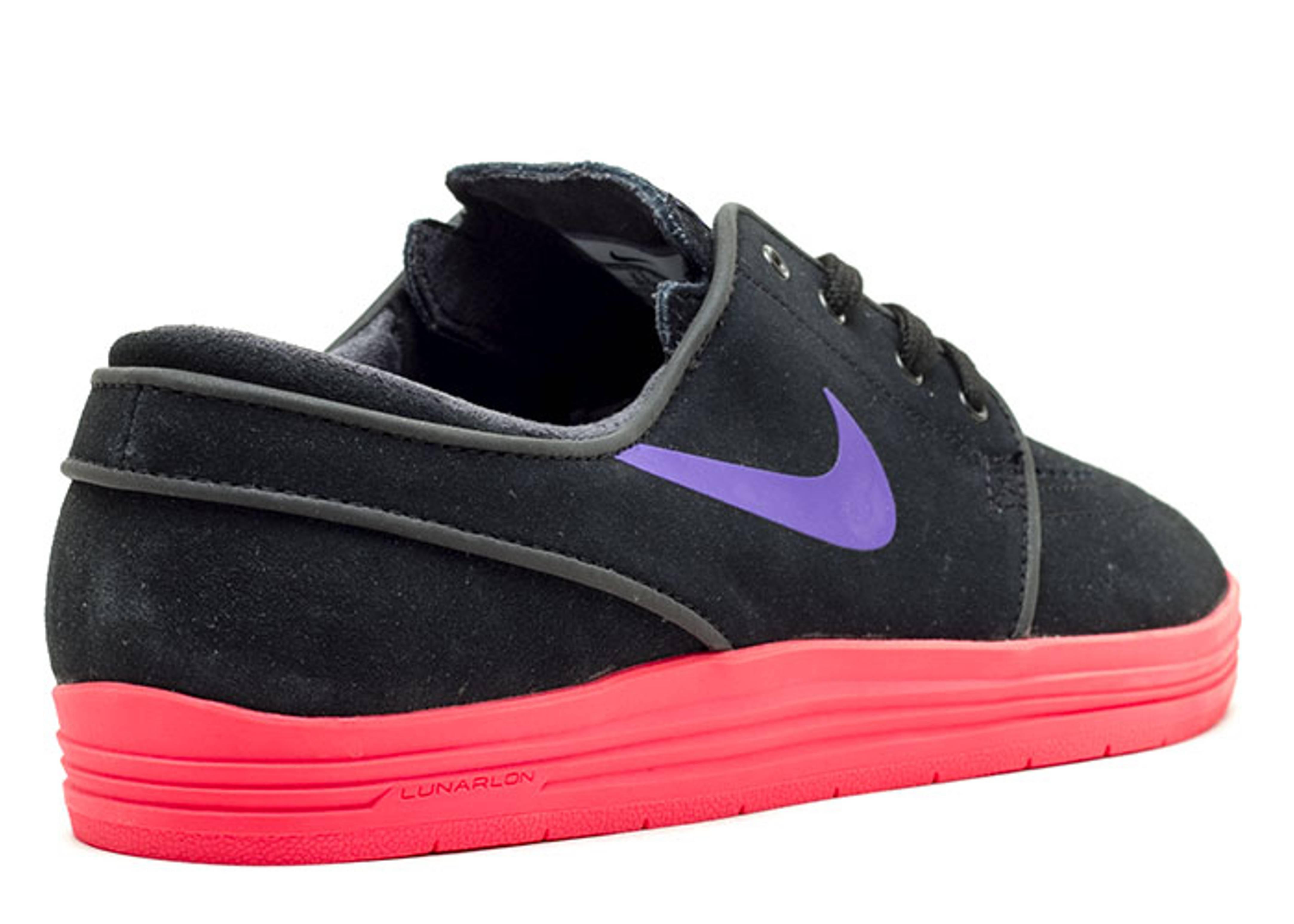 buy online c4c06 a7ef1 Lunar Stefan Janoski - Nike - 654857 056 - black hyper grape-hyper punch  Flight Additional Images Nike SB ...