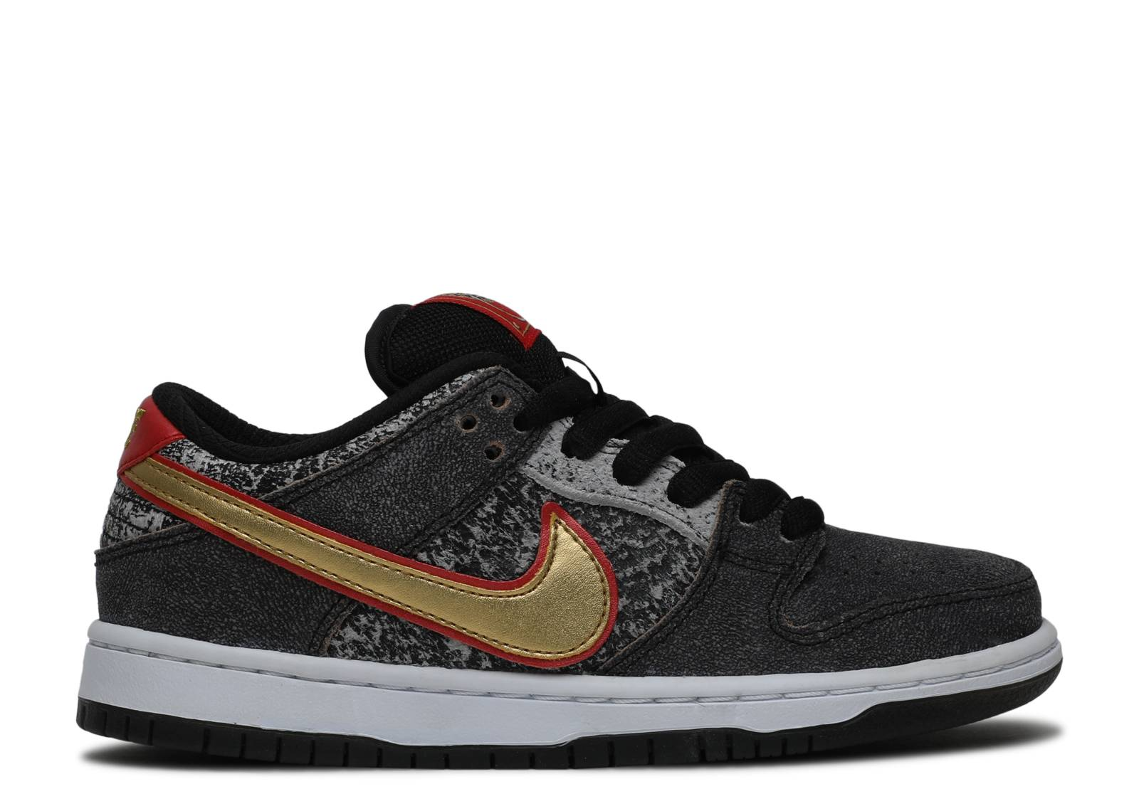 nike dunk low black