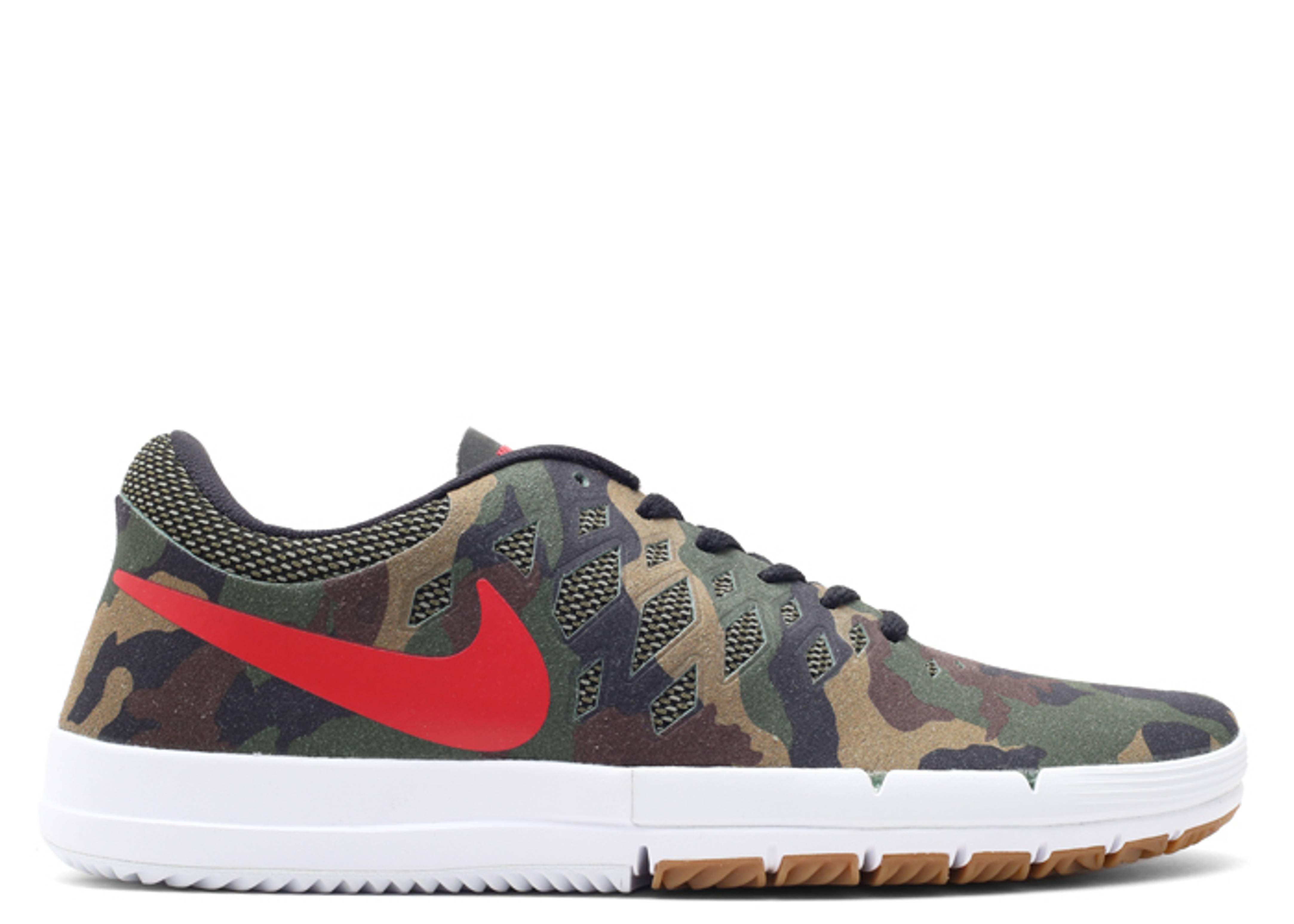 nike sb free rose city fortress green/gym red/black suburban