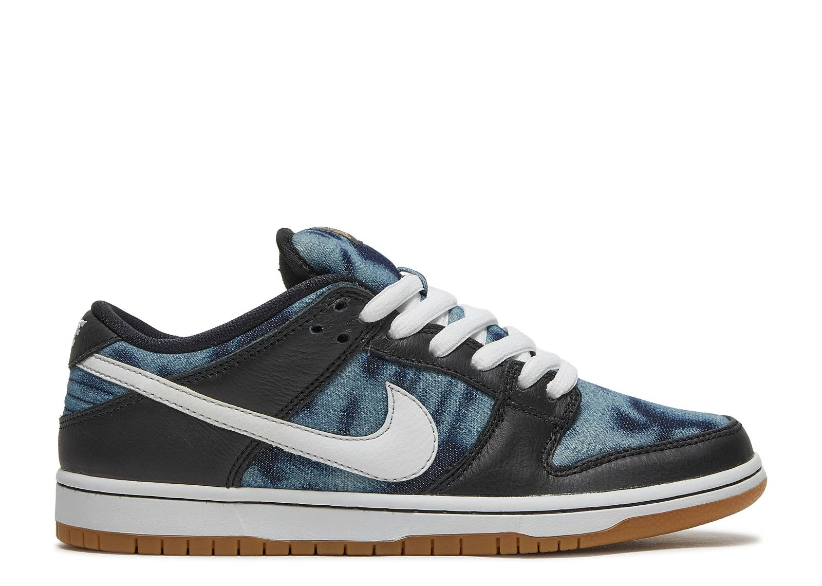 Nike Dunk SB Low Fast Times Sneakers (Black/White-Midnight Navy)