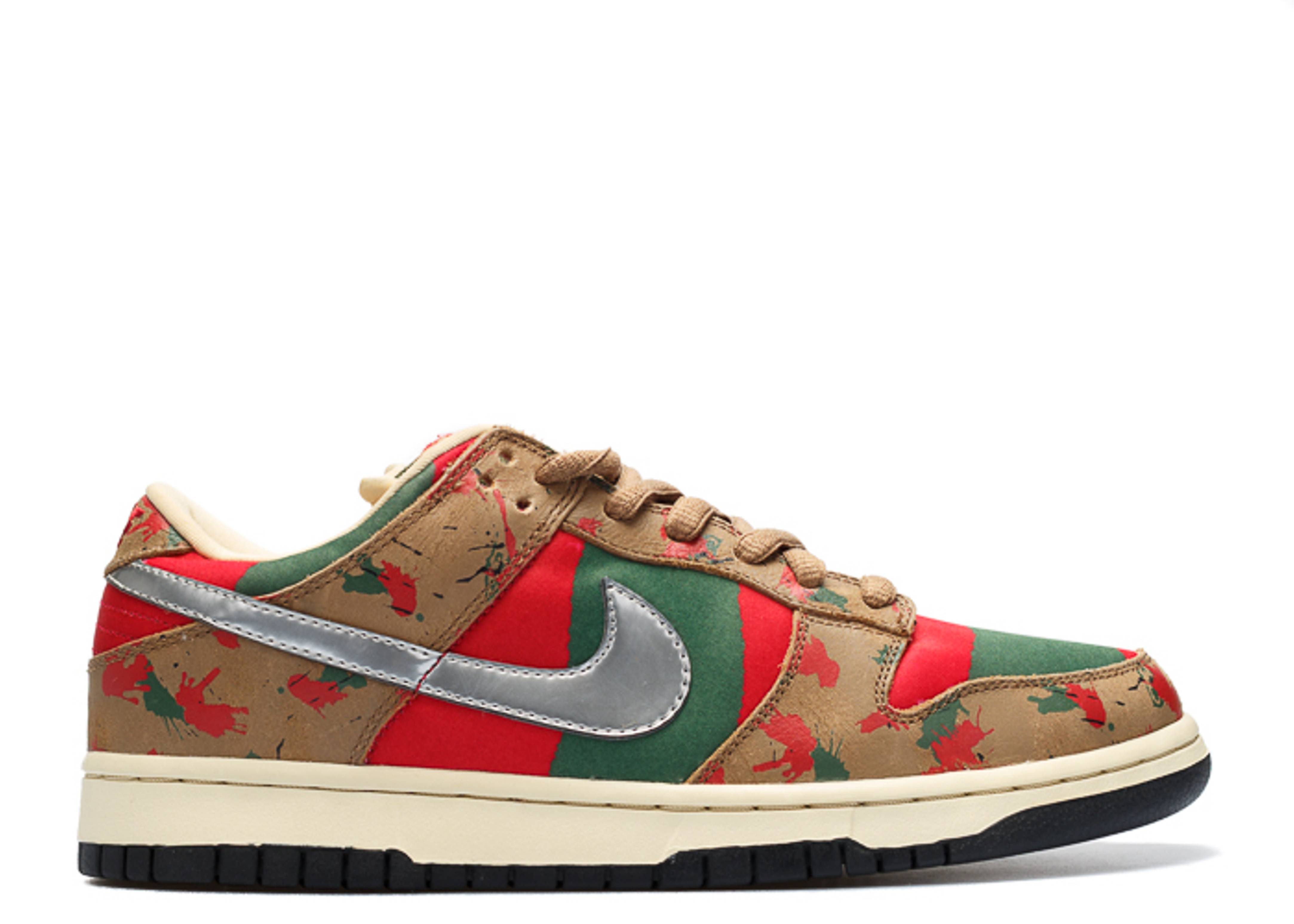 "dunk low pro sb ""freddy krueger sample"""