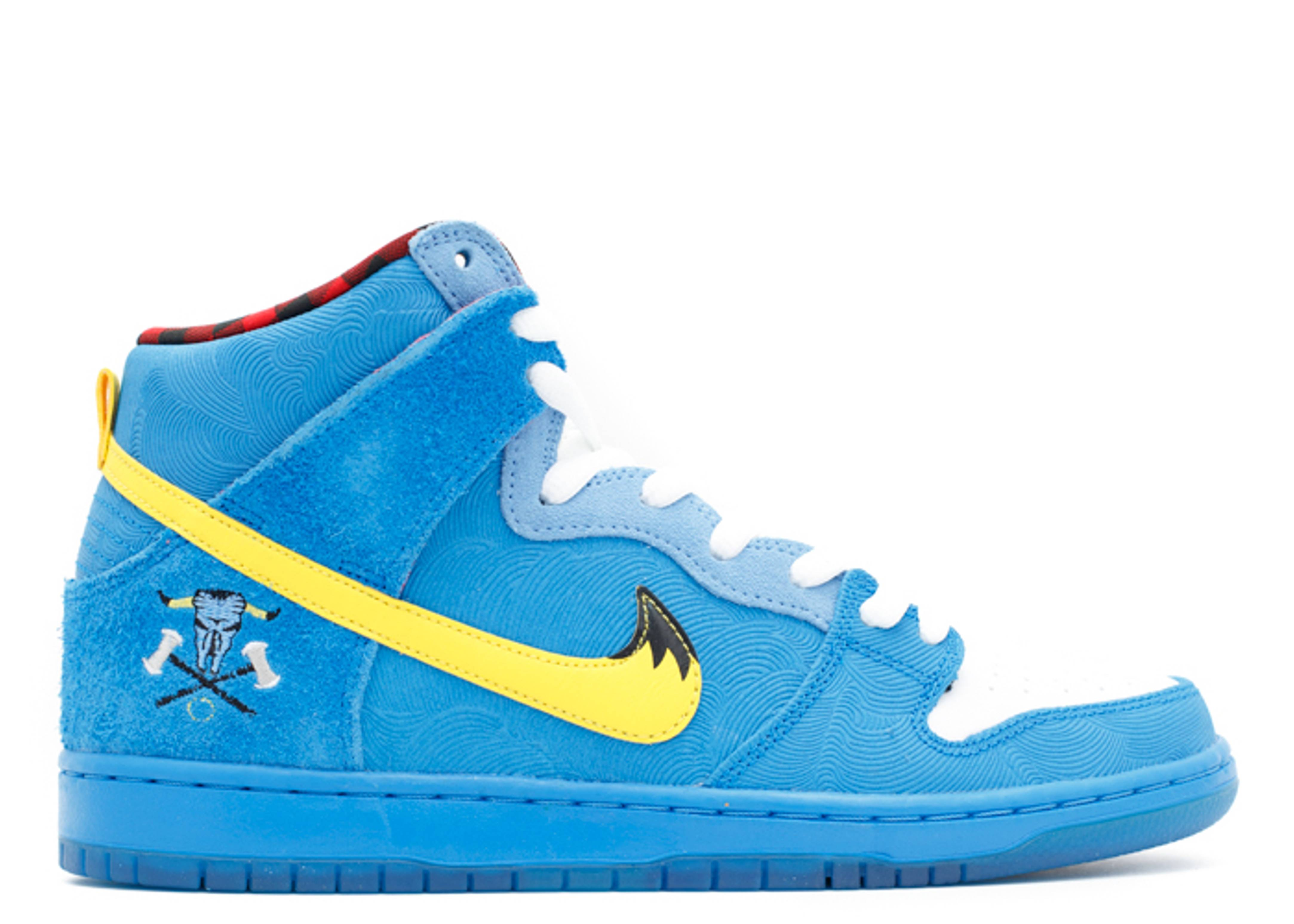 dunk high premium sb familia blue ox nike 313171. Black Bedroom Furniture Sets. Home Design Ideas