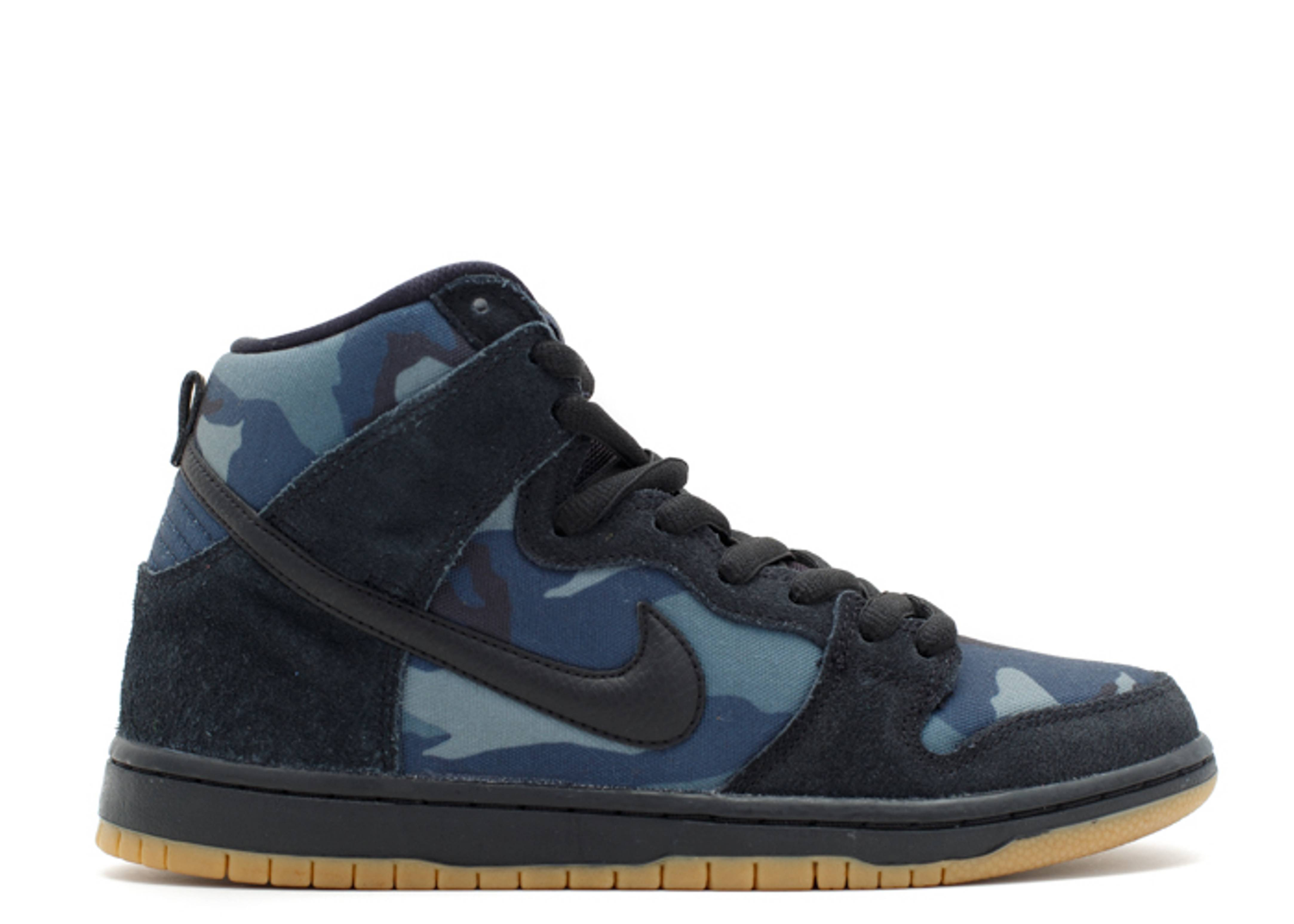 dunk high pro sb nike 305050 024 black black. Black Bedroom Furniture Sets. Home Design Ideas