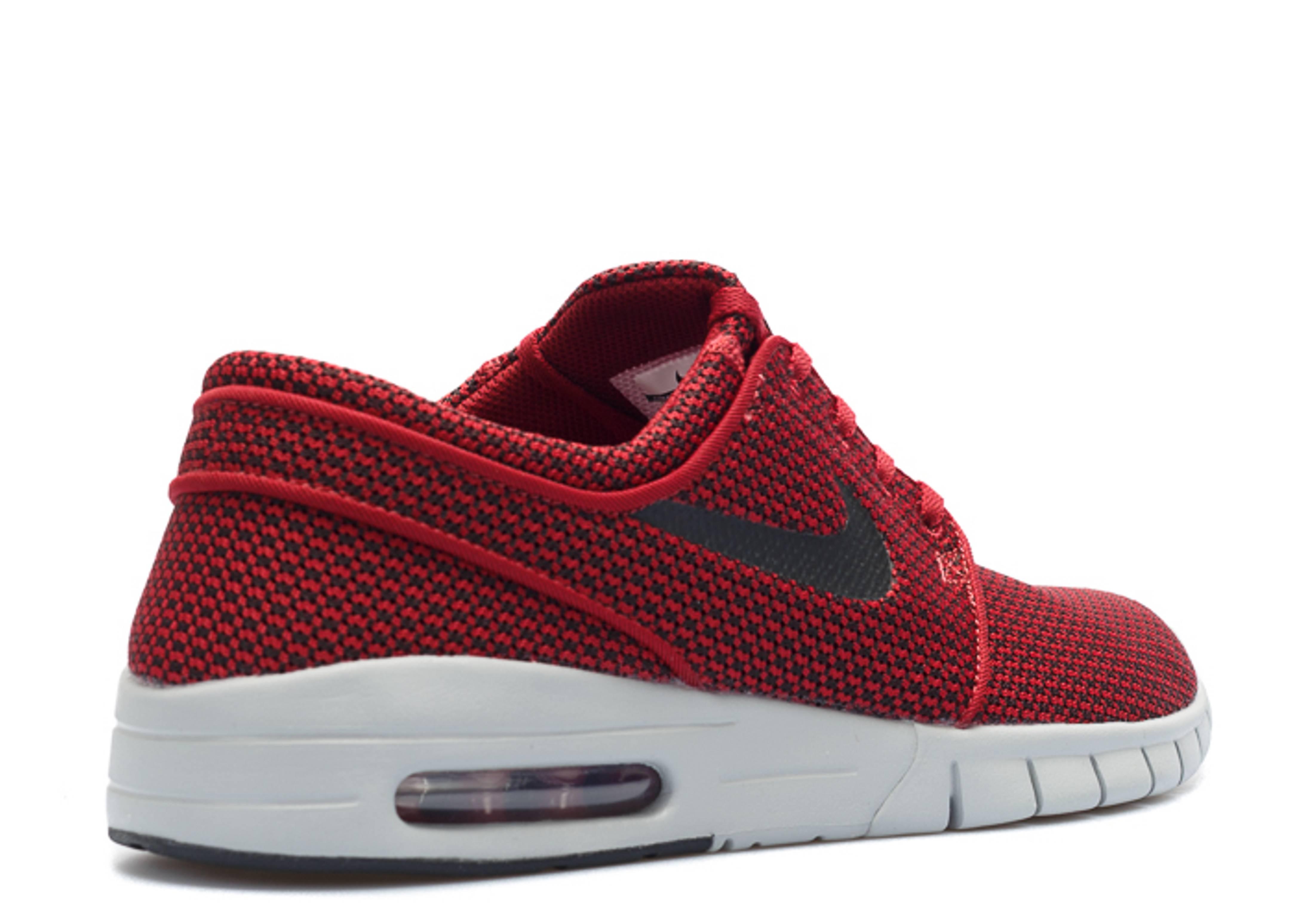 Nike Stefan Janoski Max Leather Sneakers Wolf GreyWhitecool Greygrau Gr.