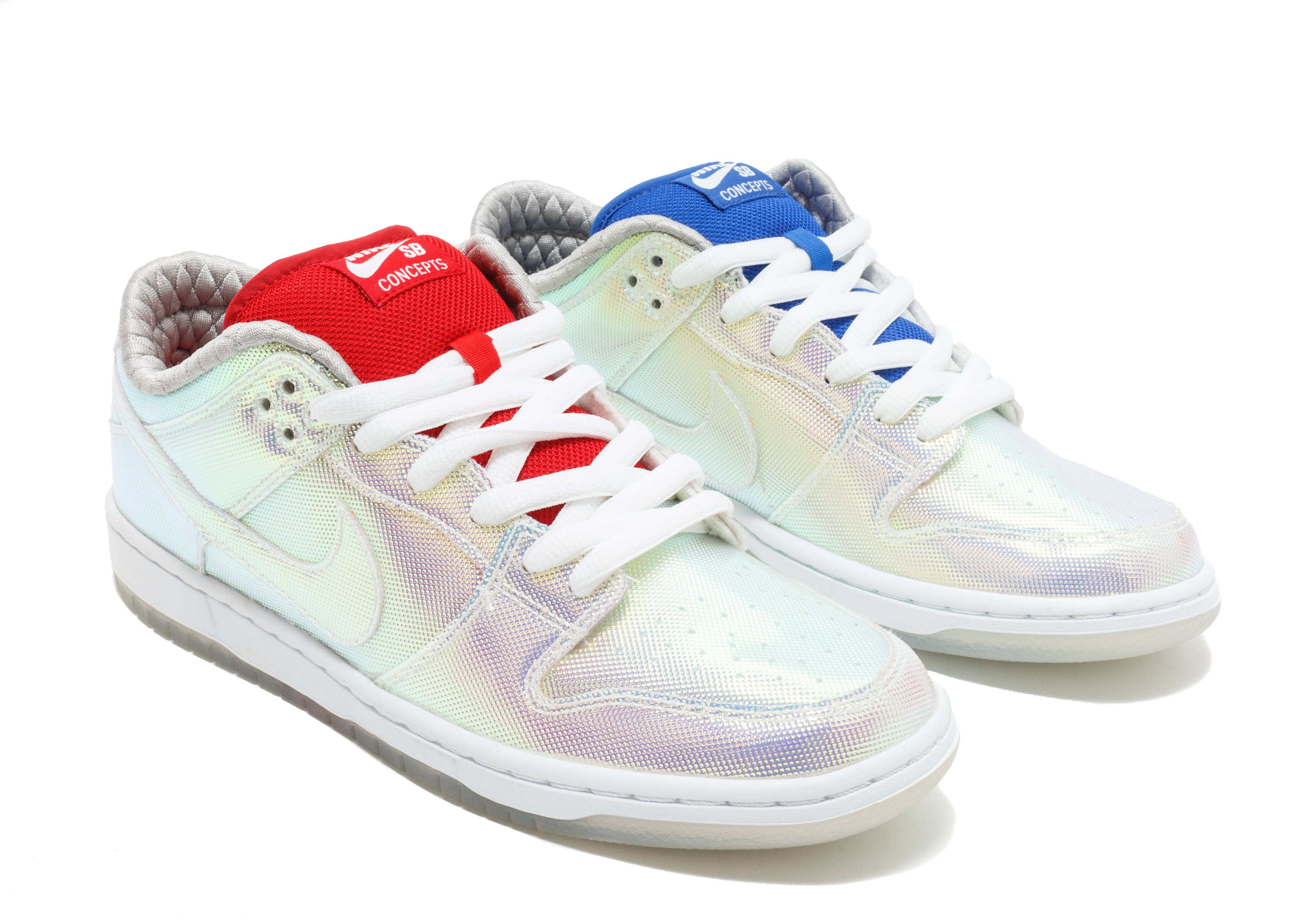 """concepts nike sb dunk low """"holy grail cement box"""""""