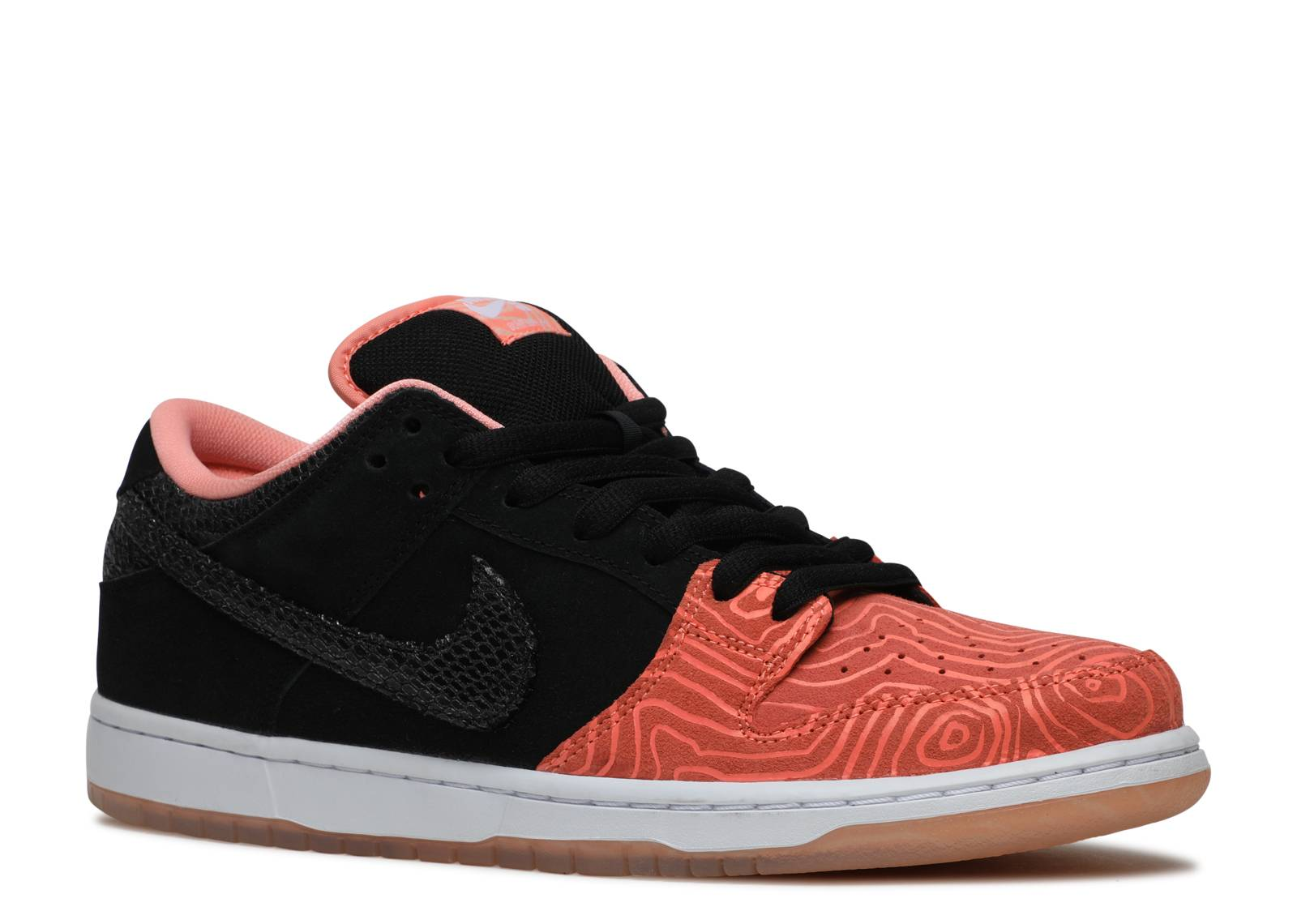 Dunk low premium sb premier fish ladder nike 313170 for Fish nike shoes