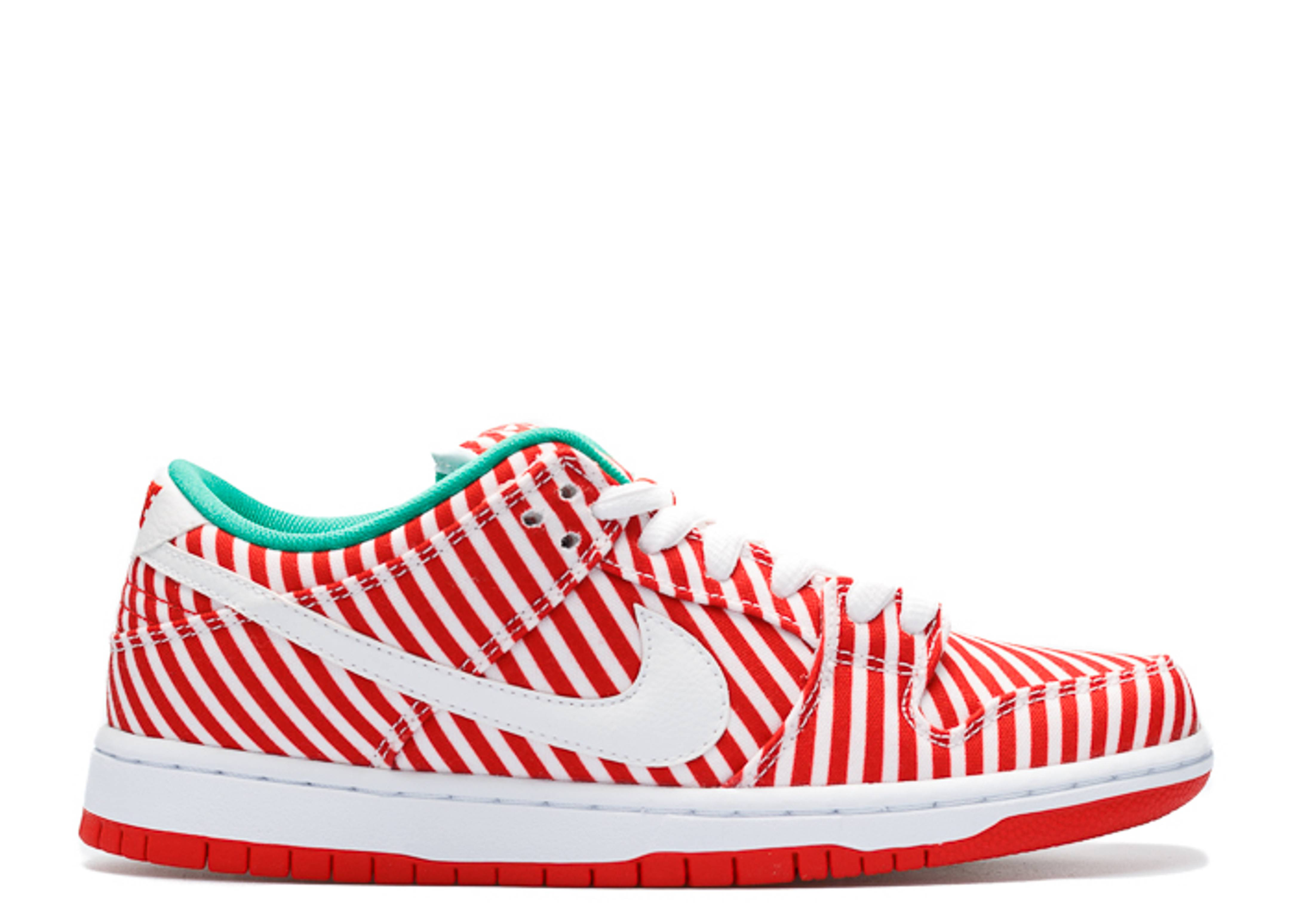 "dunk low premium sb ""candy cane"""