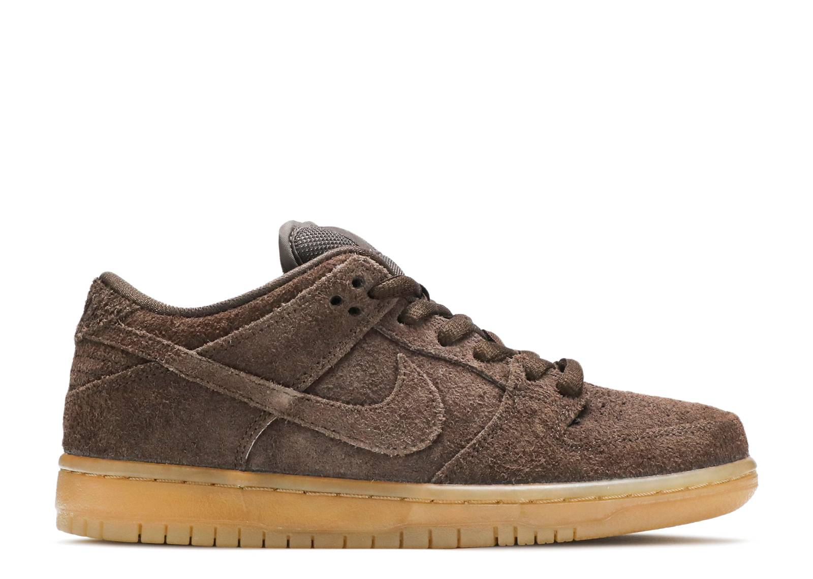 nike dunk low marron
