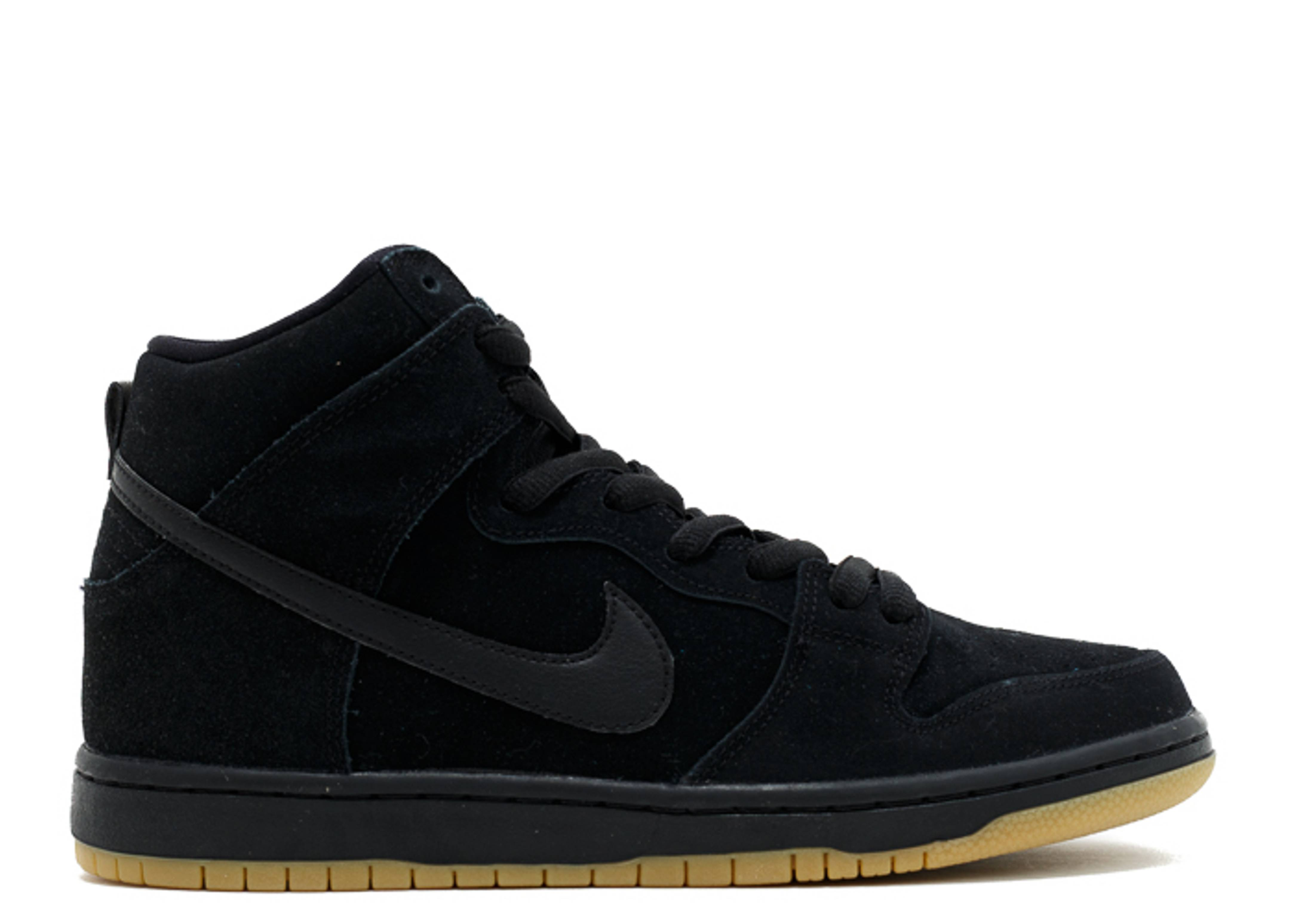 6aee9137bc top quality dunk high pro sb nike 305050 029 black black gum light brown  flight club