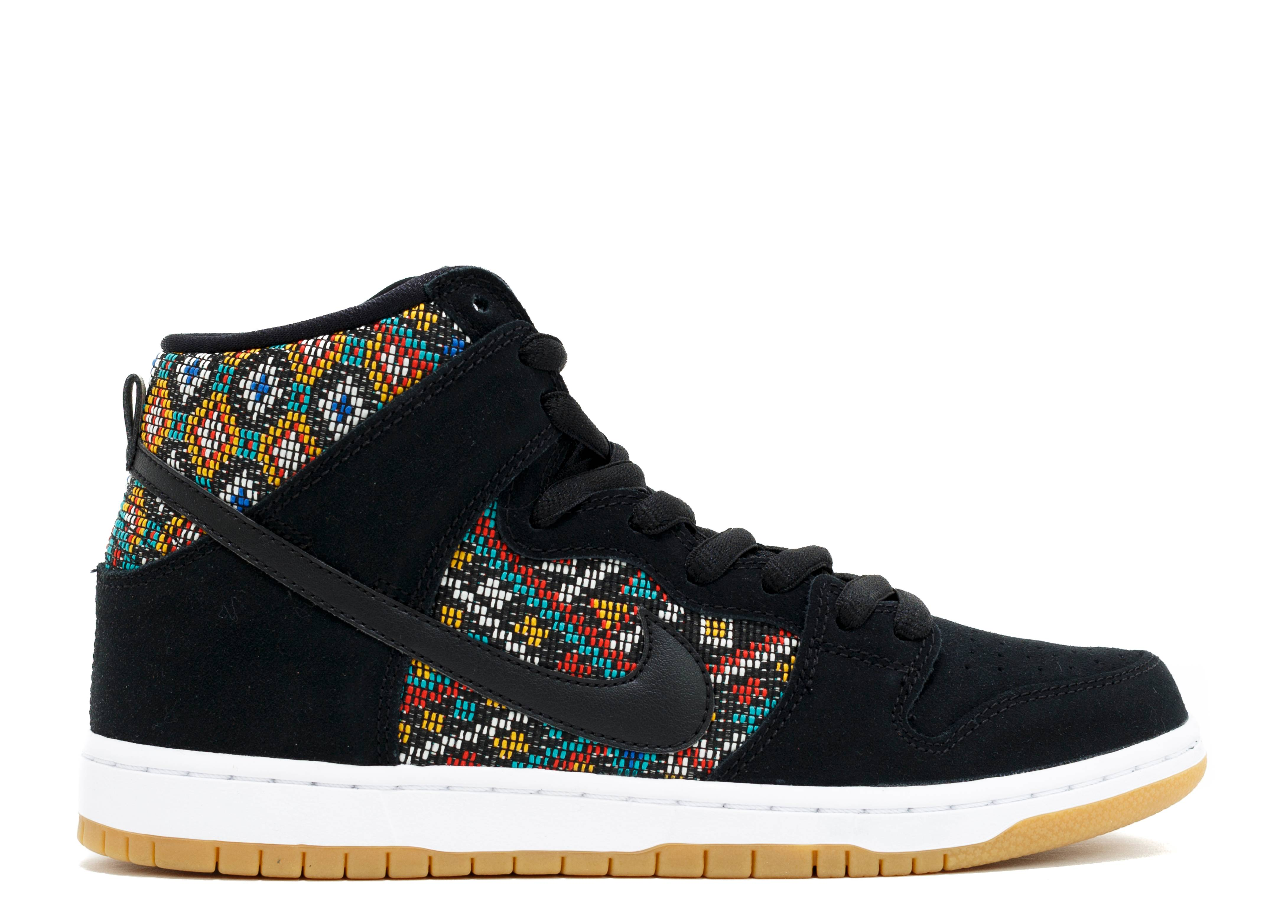 dunk high premium sb aztec geometry nike 313171 030. Black Bedroom Furniture Sets. Home Design Ideas