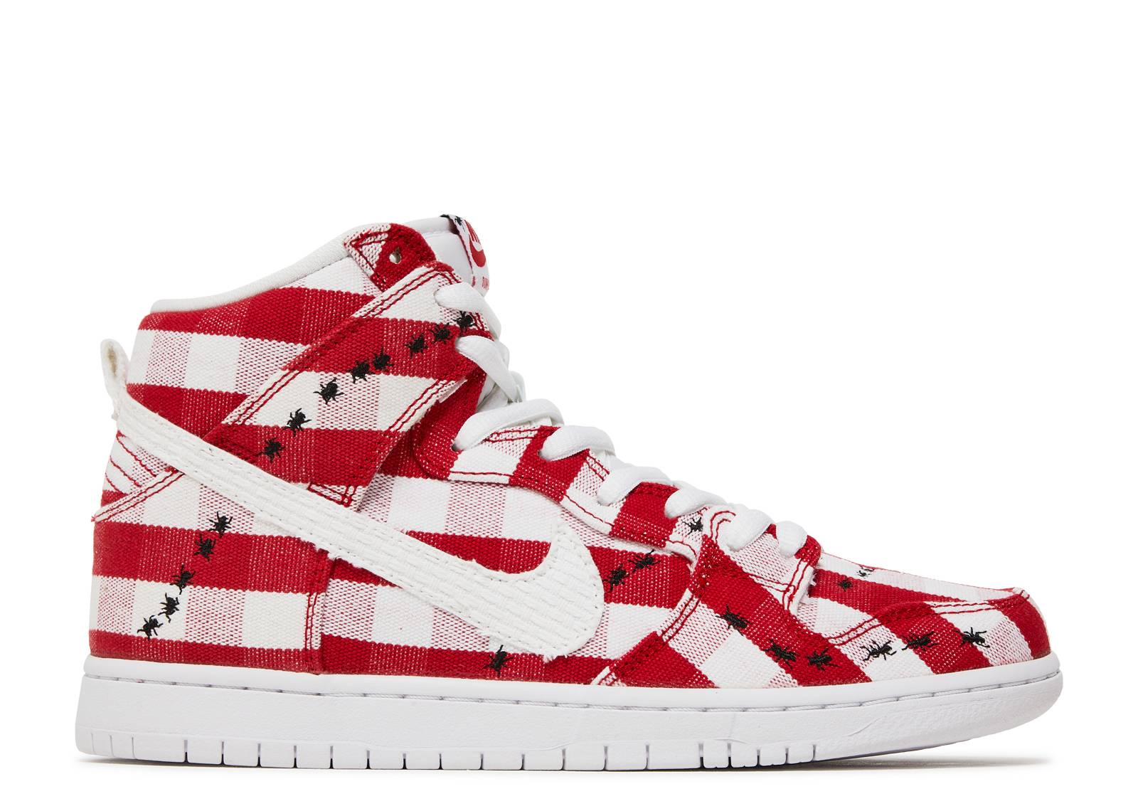 Nike SB Dunk High Pro 'University Red & White' Release Date