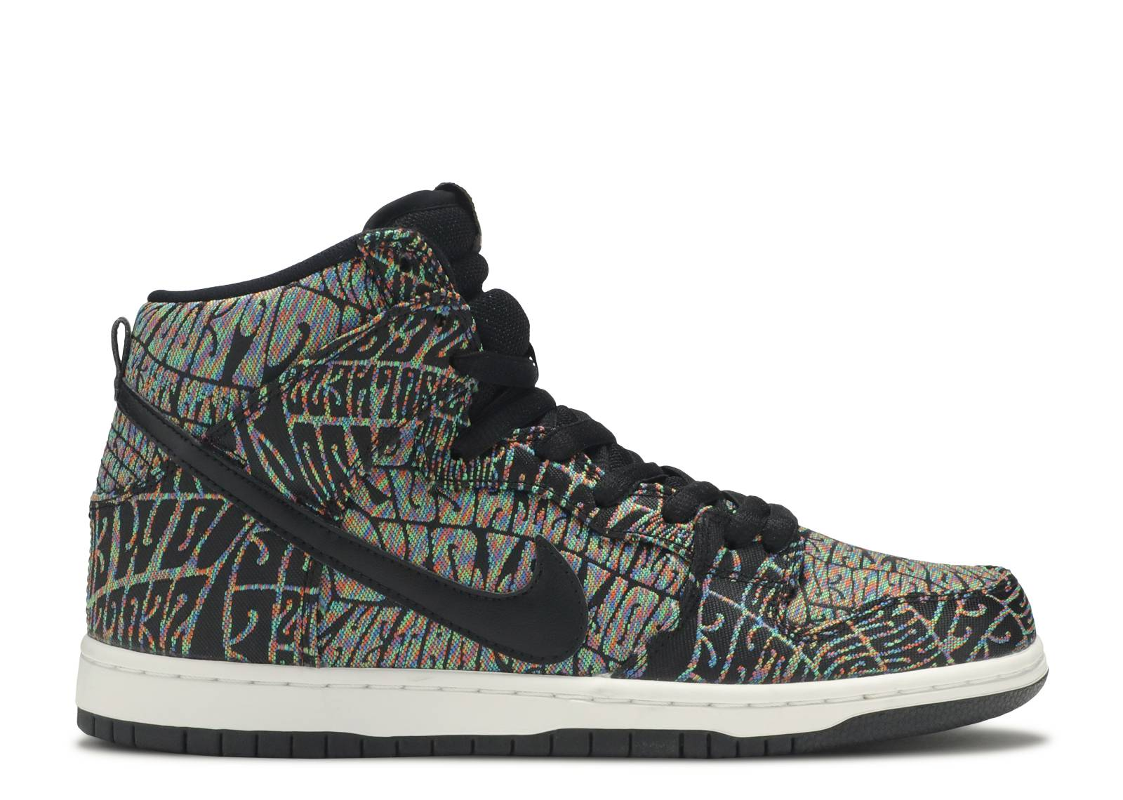 dunk high premium sb psychedelic nike 313171 029. Black Bedroom Furniture Sets. Home Design Ideas