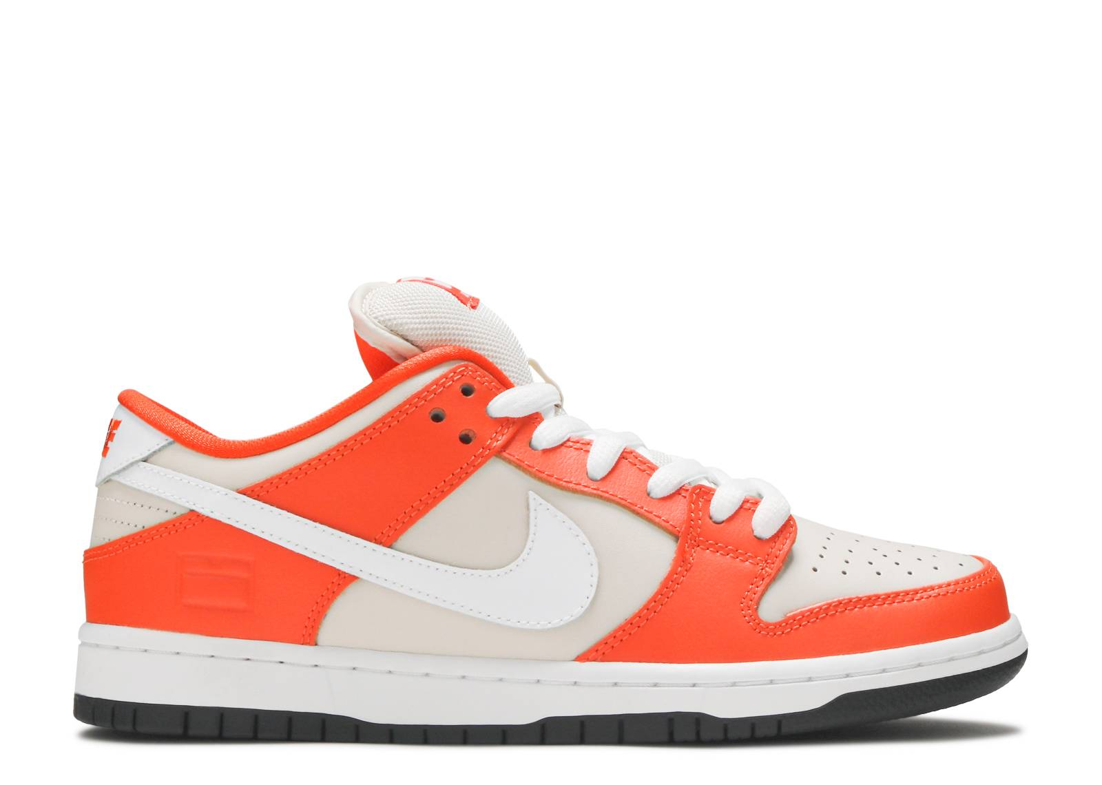 pink and orange striped nike shoes