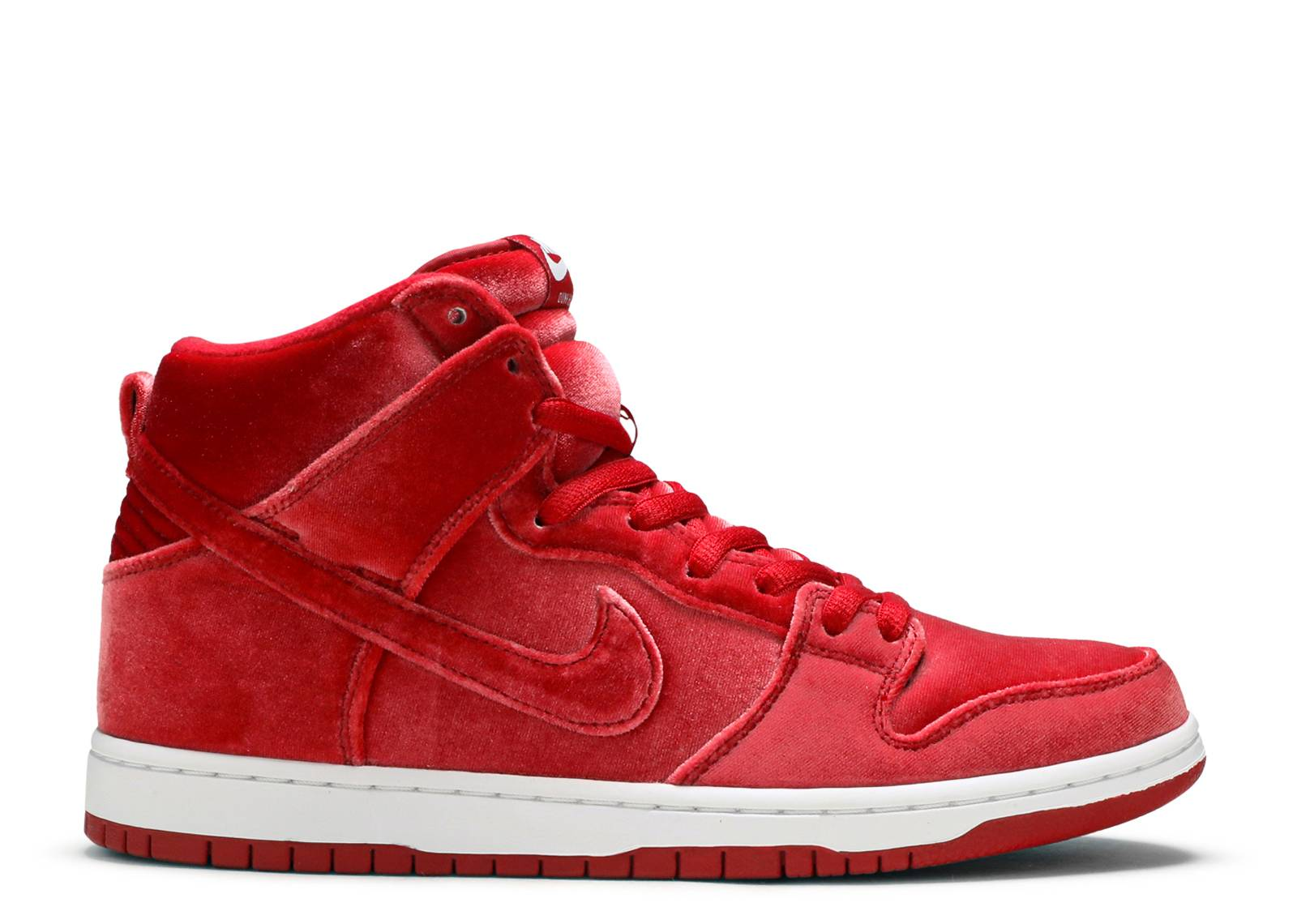 "sb dunk high prm ""red velvet"""