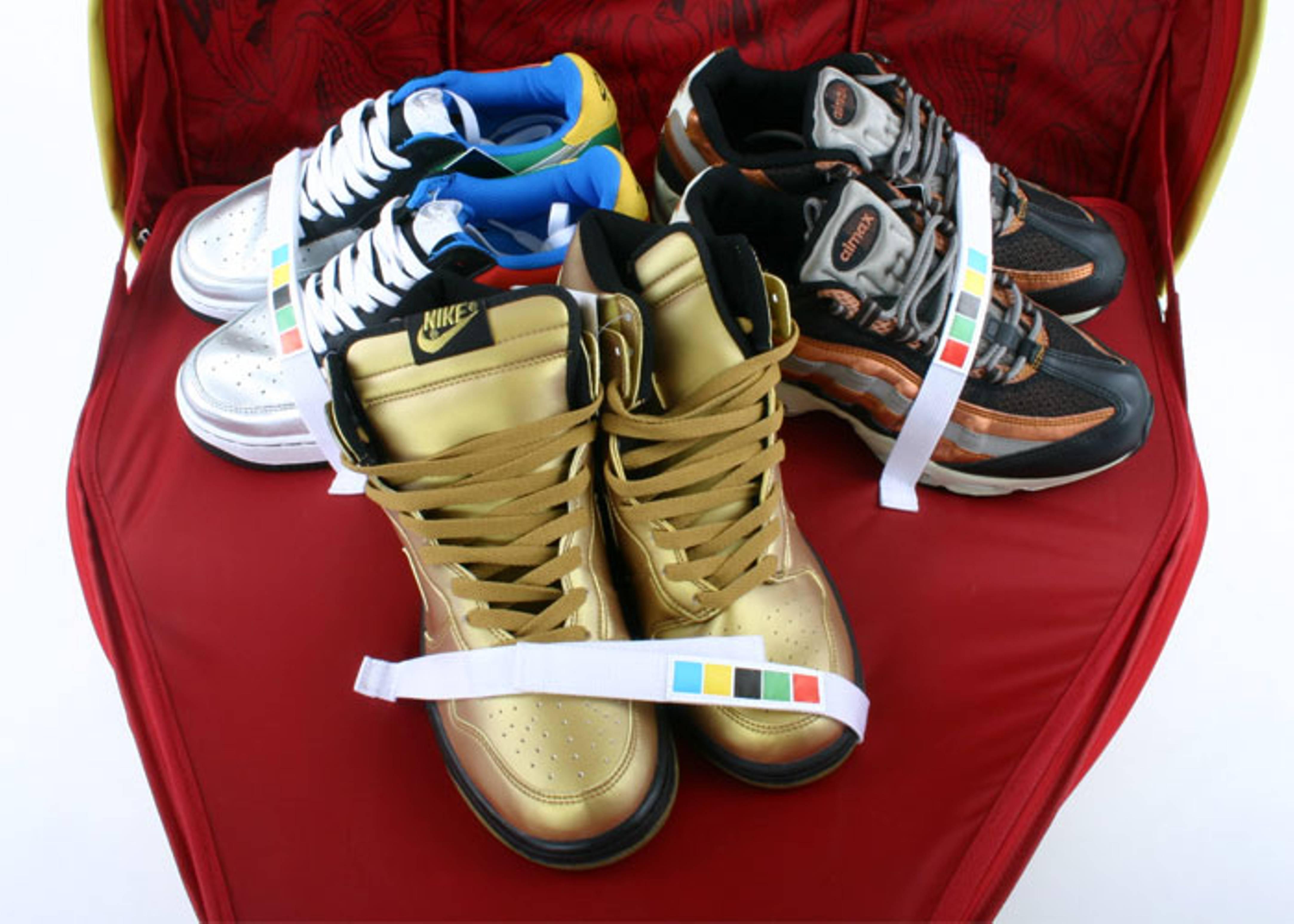 "olympic air force/dunk/air max 95 ""champ pack"""