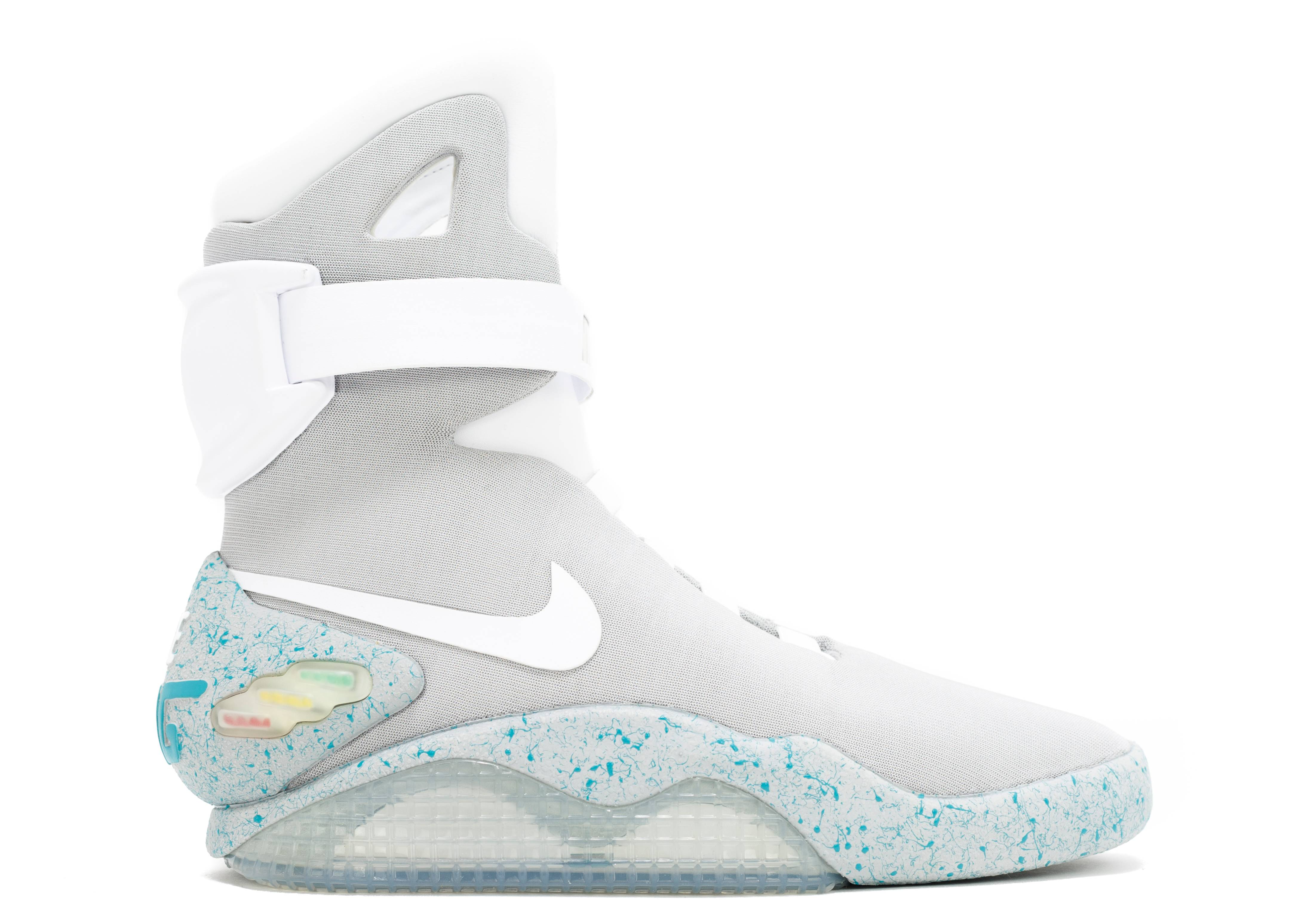 nike basketball shoes all white. air mag \ nike basketball shoes all white o