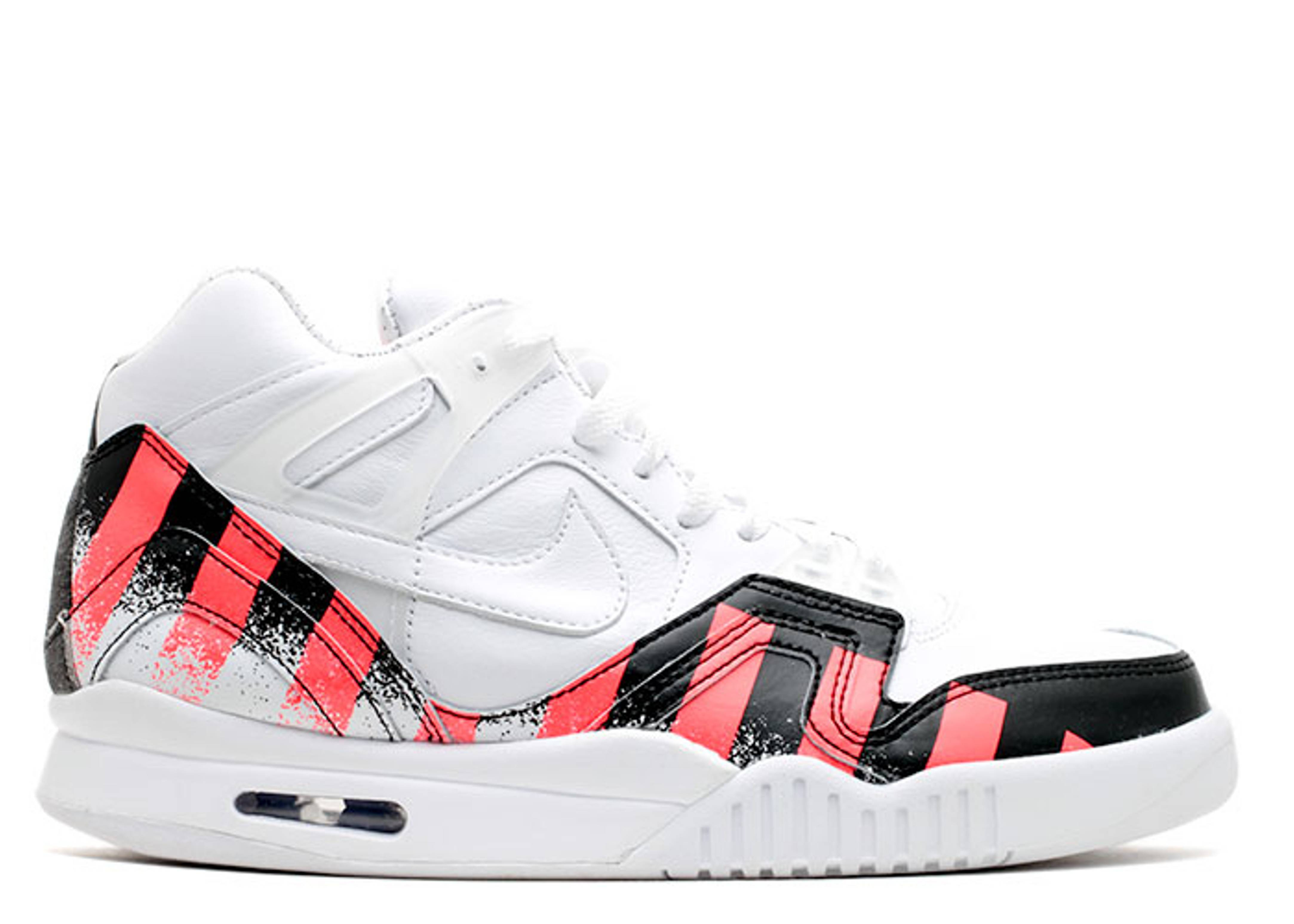 Air tech challenge 2 french open nike 621358 116 white white laser crimson flight club - Nike air tech challenge ...