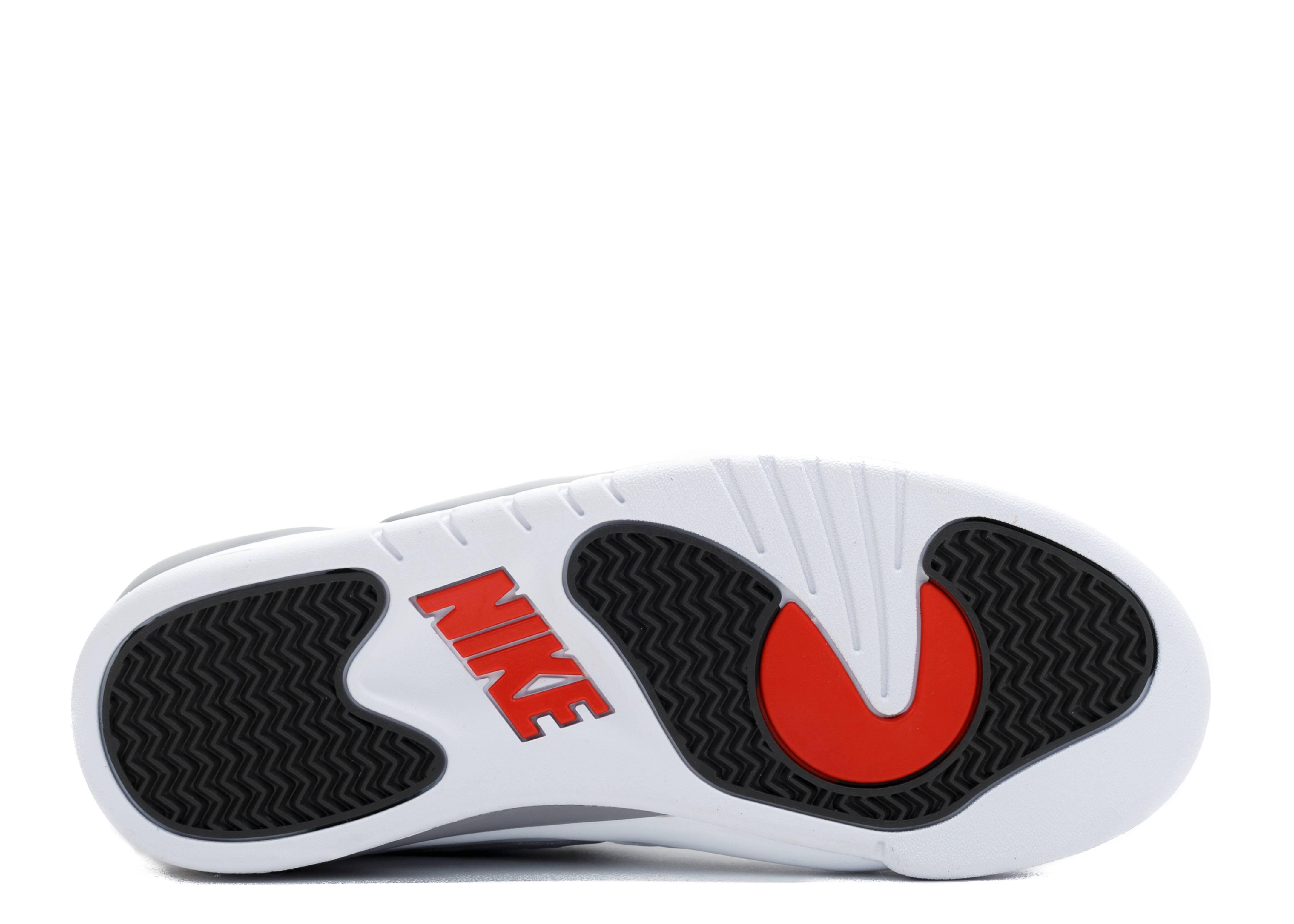 Air Pressure Nike 831279 100 White Cement Grey Varsity Red Versity R16 Flight Club