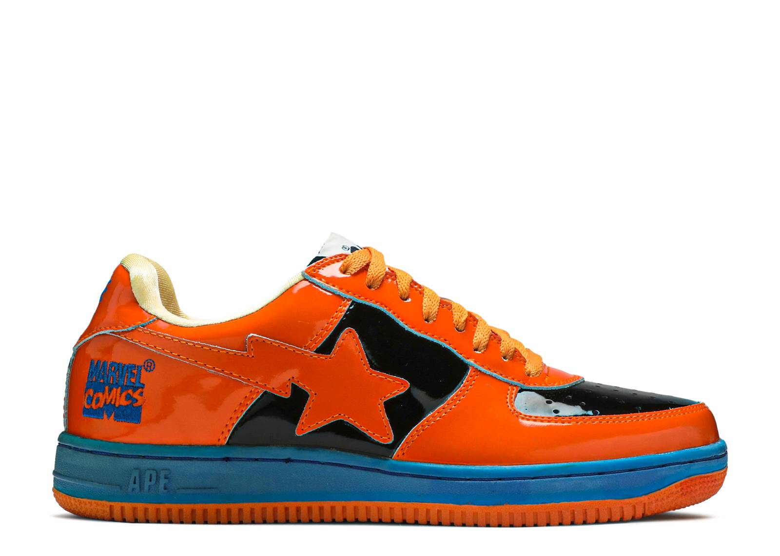 "bapesta fs-001 ""marvel comics human torch"""