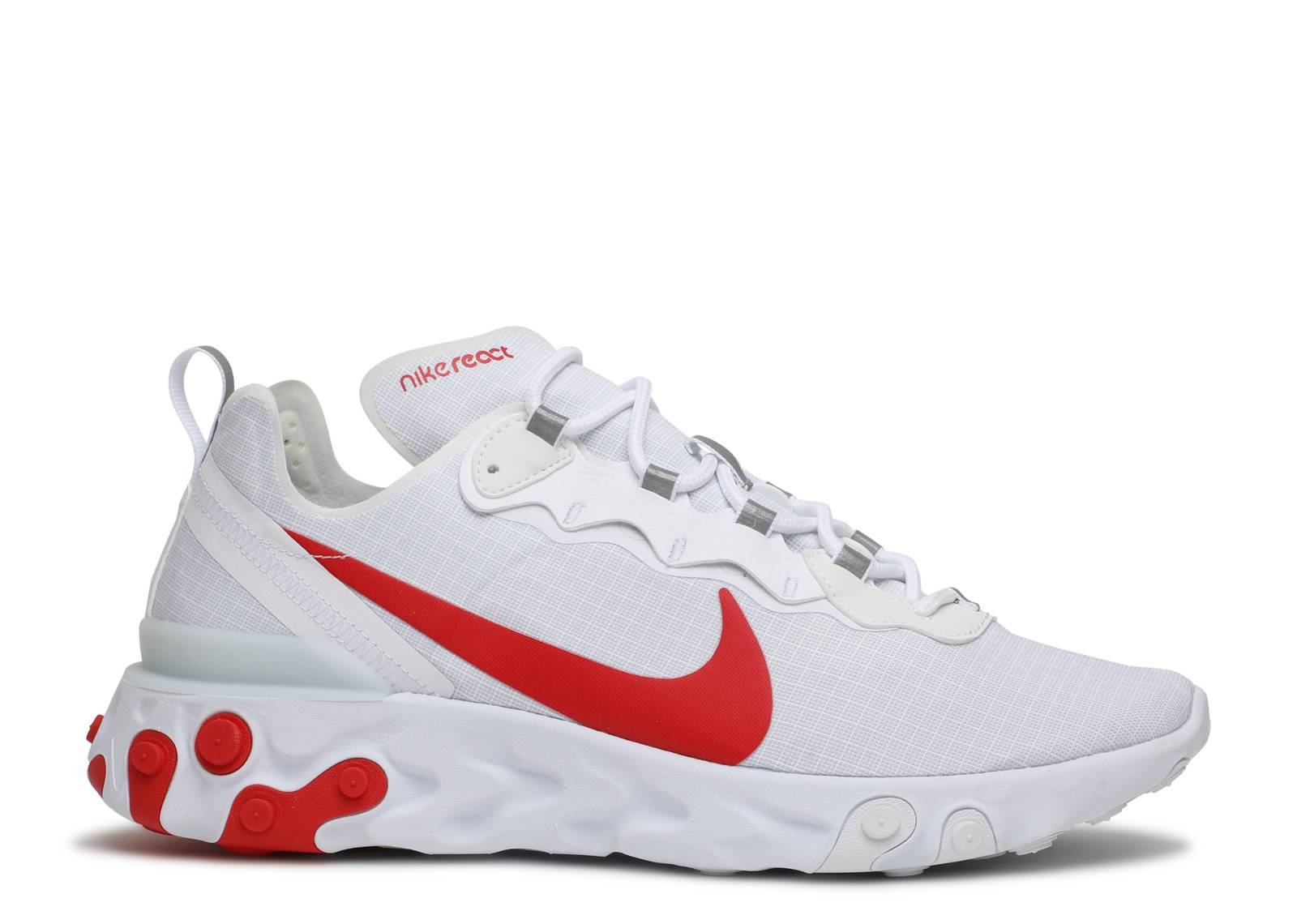 Supermercado Monje Medicina  React Element 55 'White University Red' - Nike - BQ6167 102 -  white/university red | Flight Club