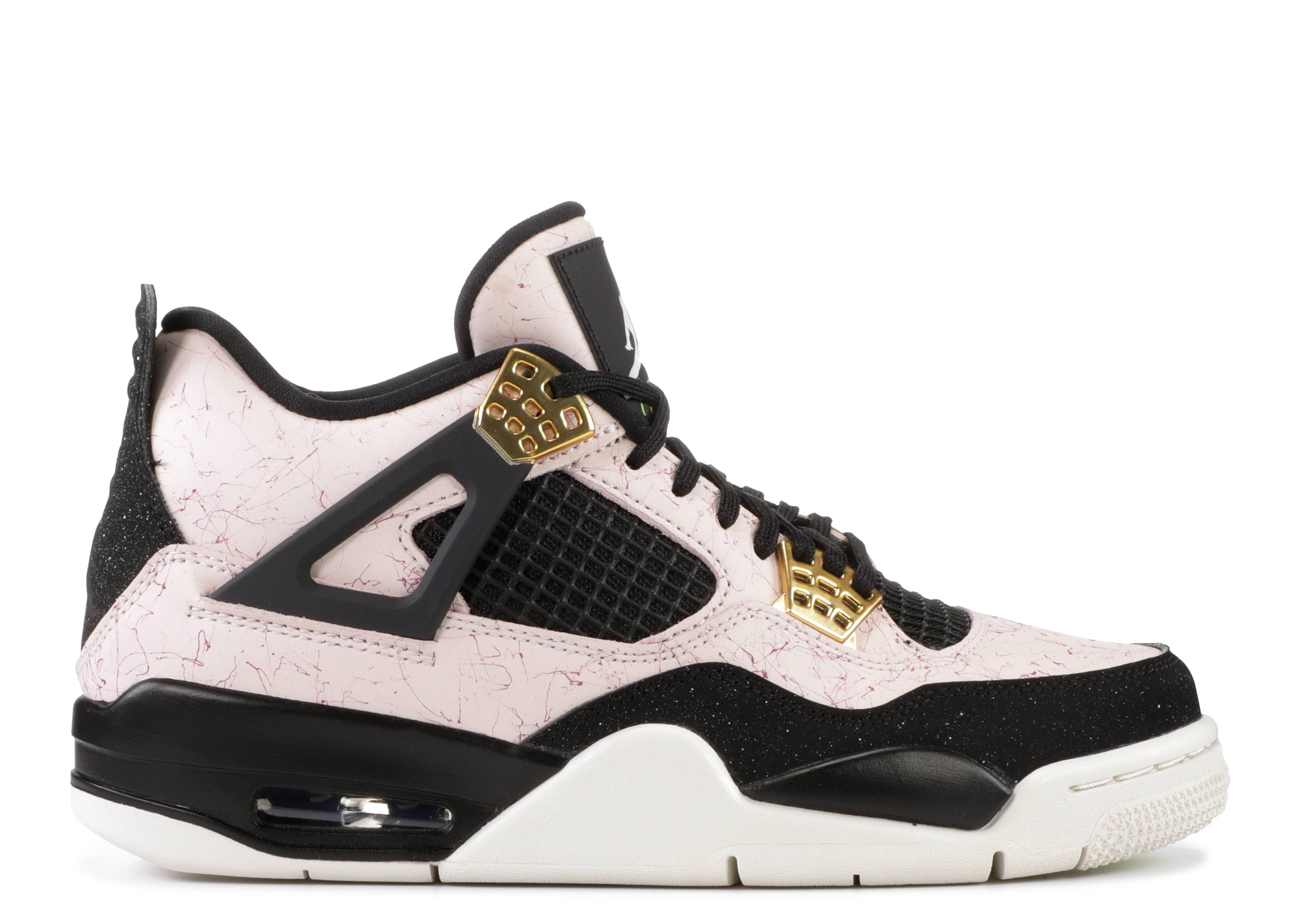 "Wmns Air Jordan 4 Retro ""Silt Red, Splatter"""