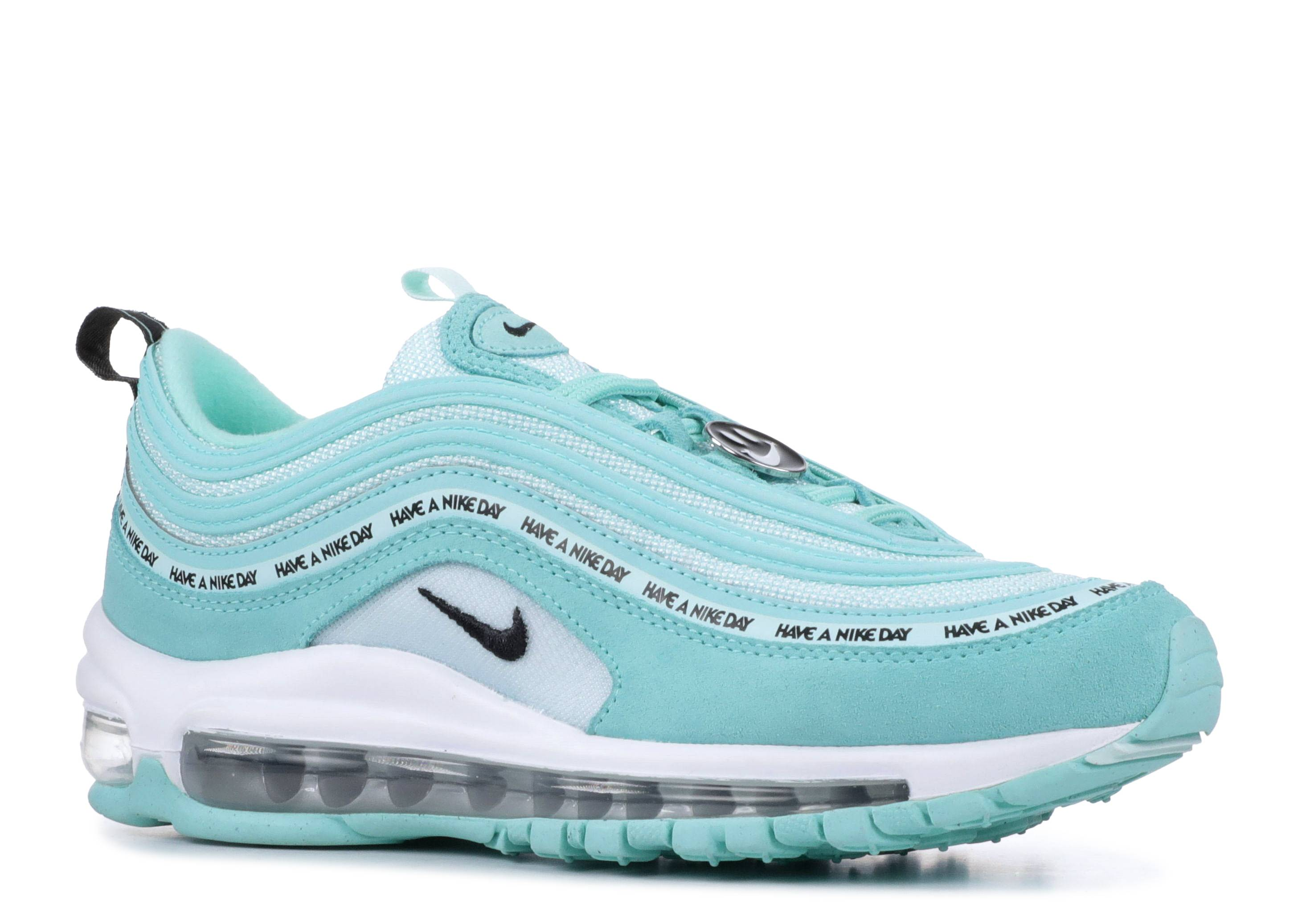 GS) AIR MAX 97 SE TROPICAL TWISTBLACK TEAL TINT WHITE