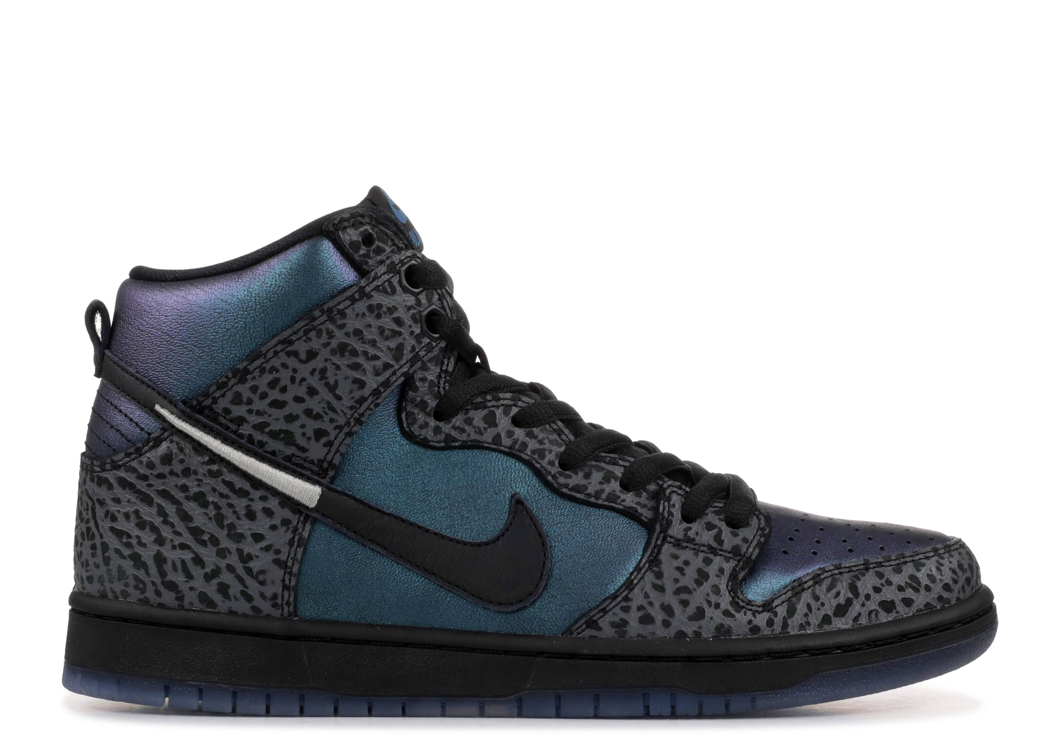 "nike sb dunk high pro qs ""black hornet special box"""